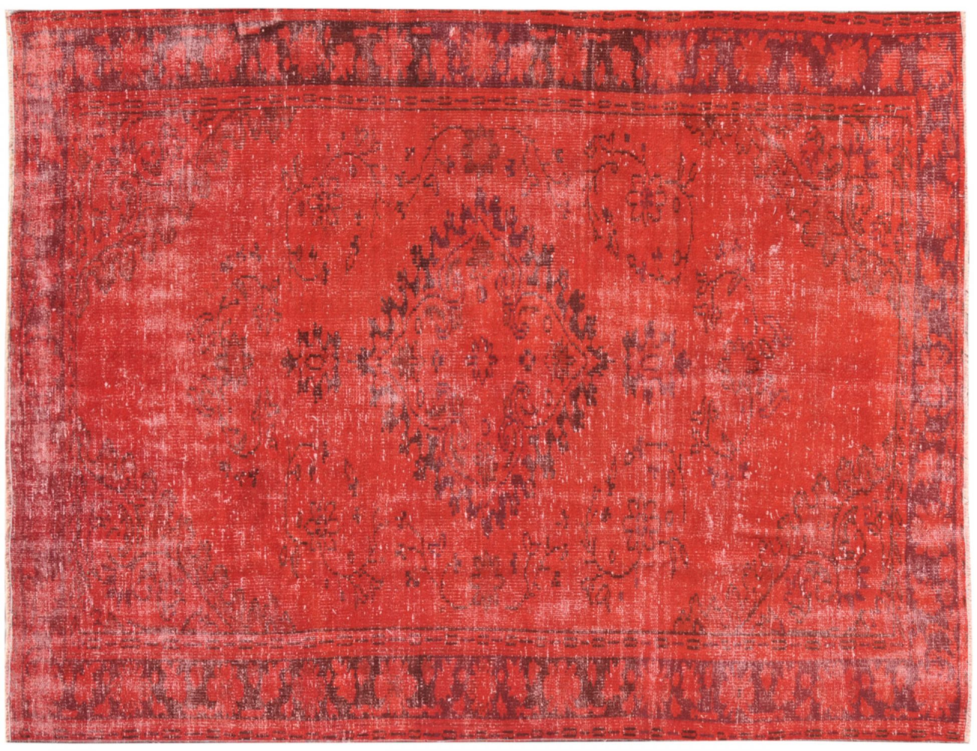 Vintage Carpet  red <br/>247 x 180 cm