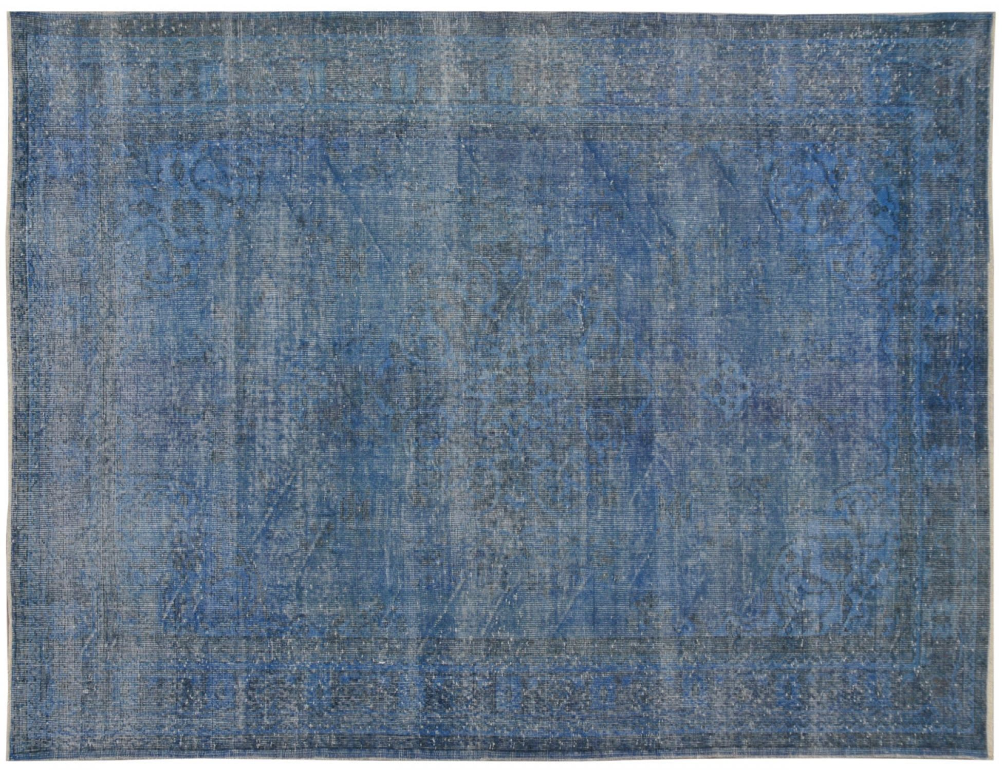 Vintage Carpet  blue <br/>277 x 183 cm