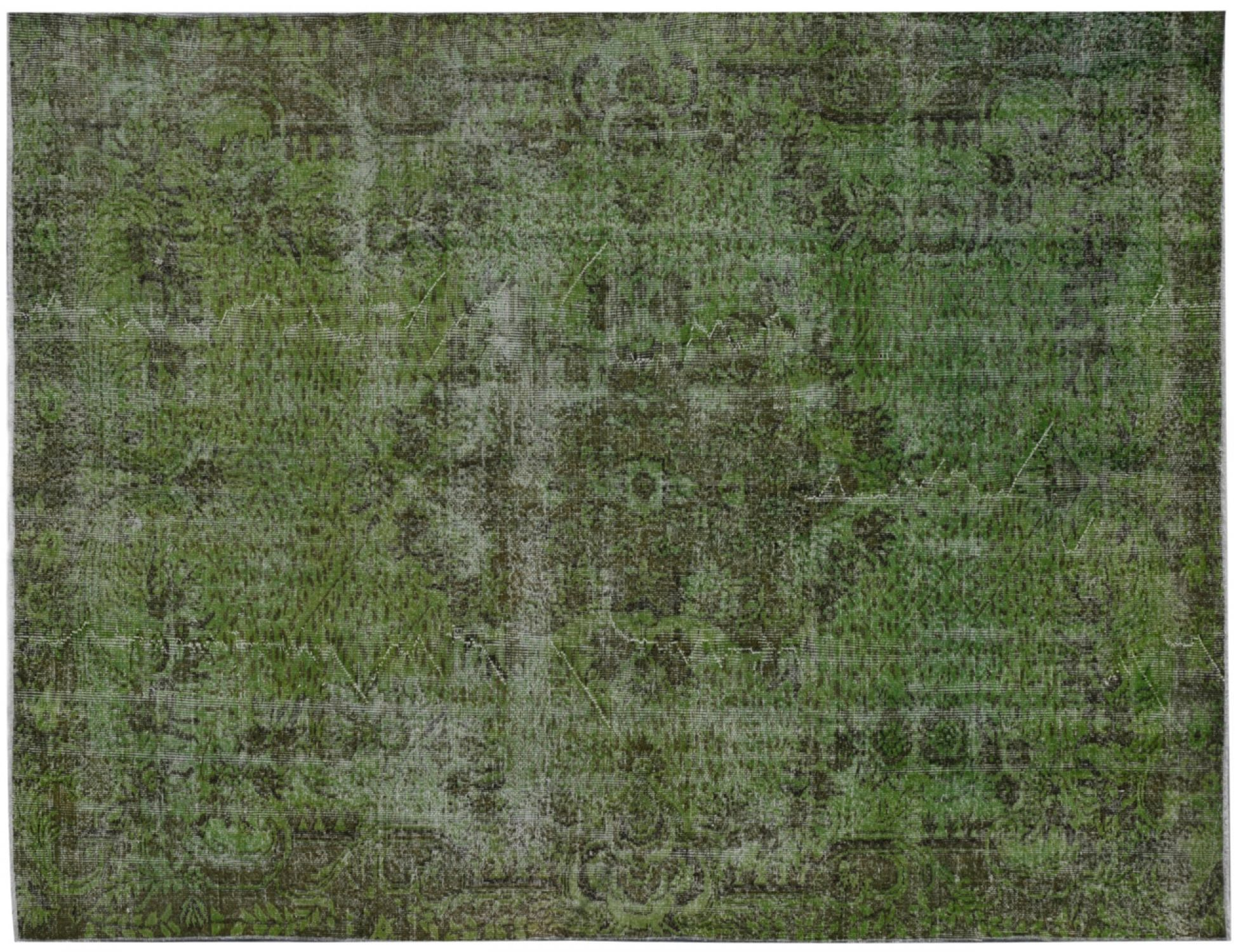 Vintage Carpet  green <br/>290 x 188 cm
