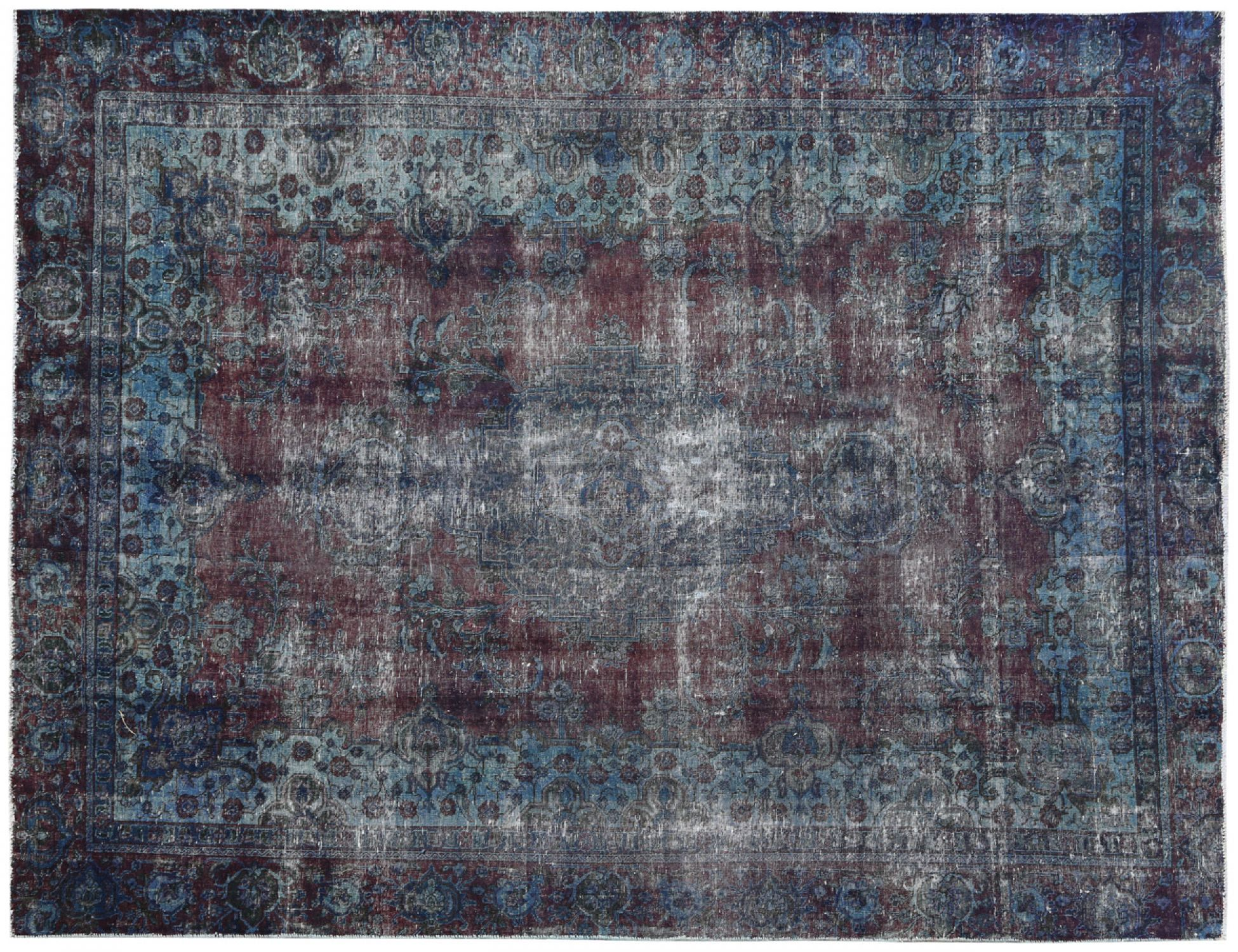 Vintage Carpet  blue <br/>351 x 251 cm