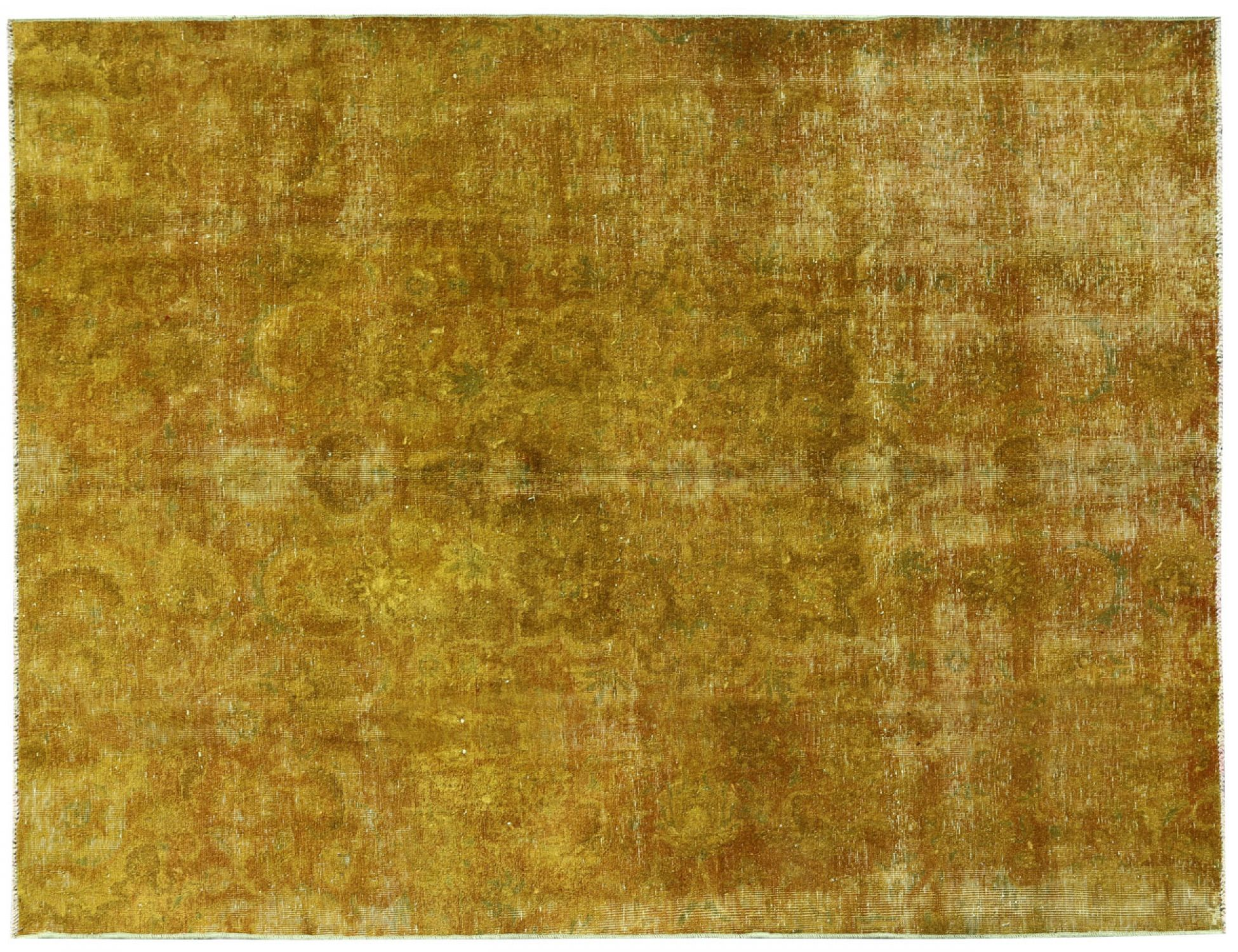 Vintage Carpet  yellow <br/>253 x 198 cm