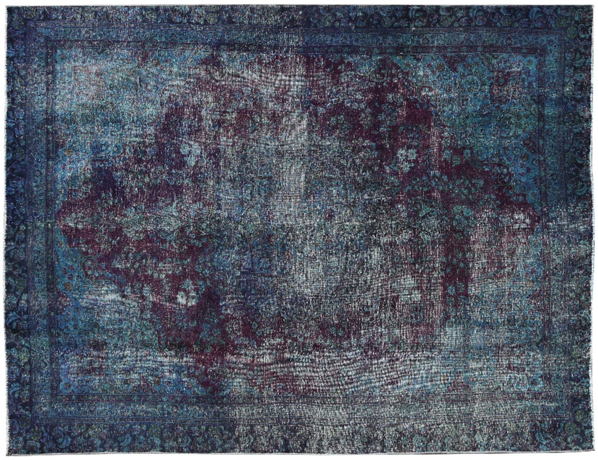 Vintage Carpet  blue <br/>337 x 243 cm
