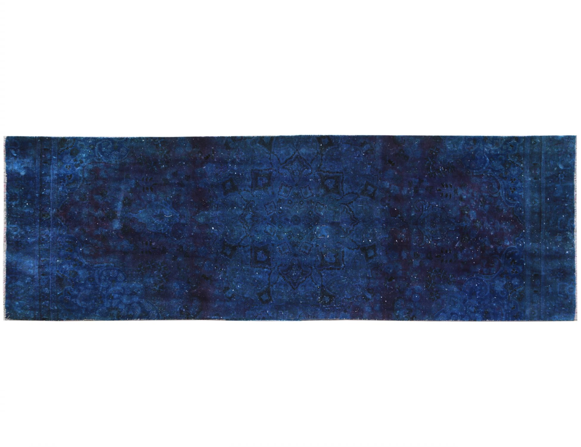 Vintage Carpet  blue <br/>348 x 114 cm
