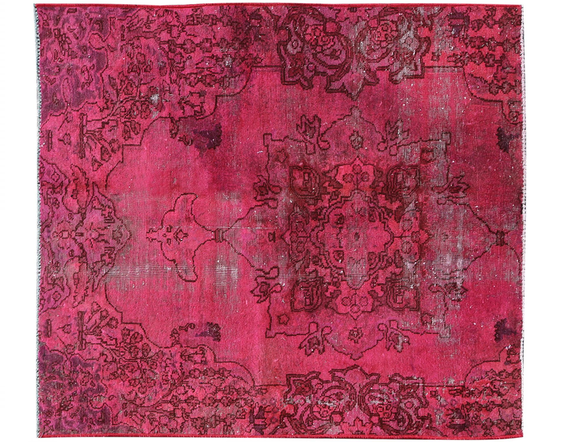 Vintage Carpet  purple <br/>161 x 148 cm