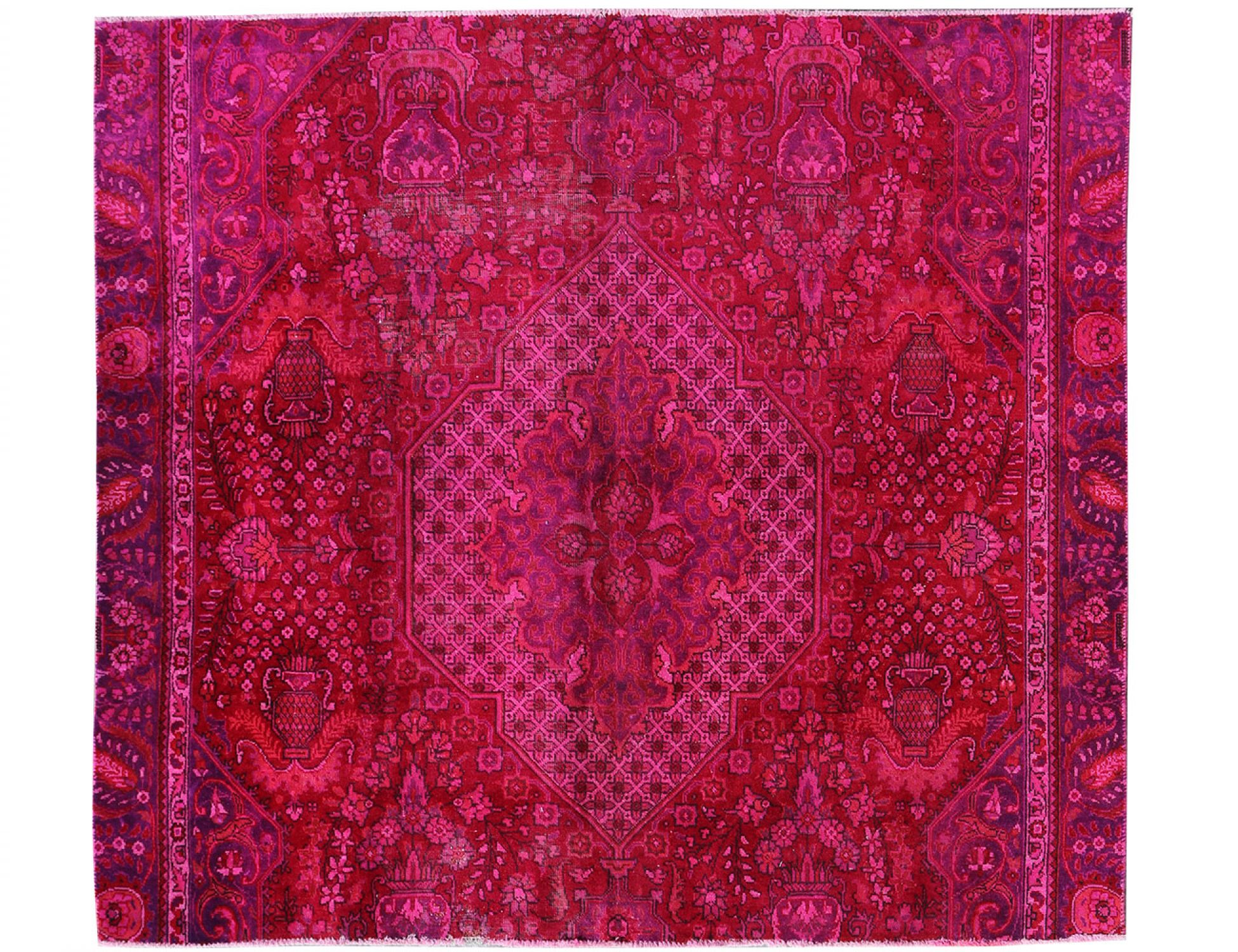 Vintage Carpet  purple <br/>223 x 185 cm