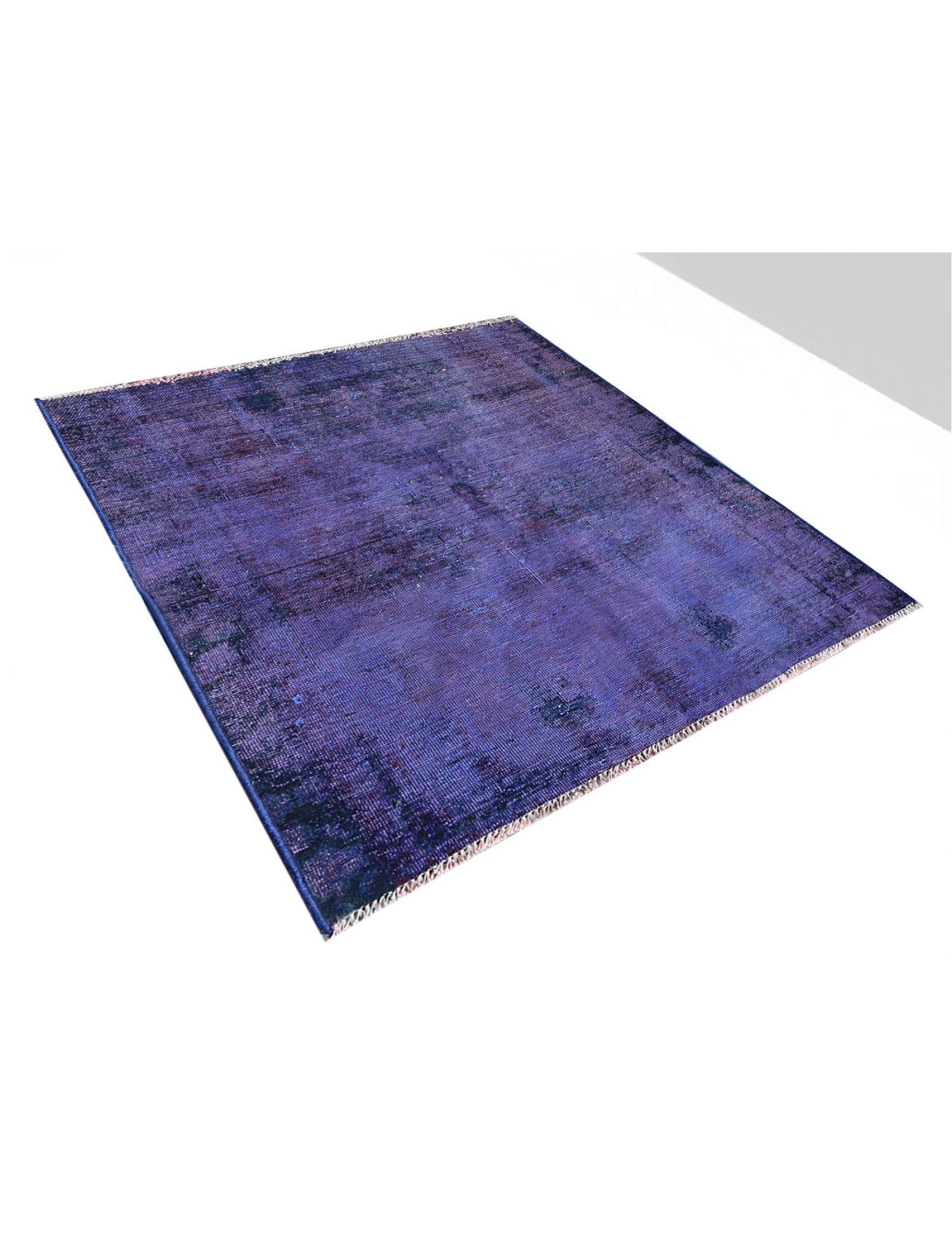 Vintage Carpet  blue <br/>122 x 122 cm