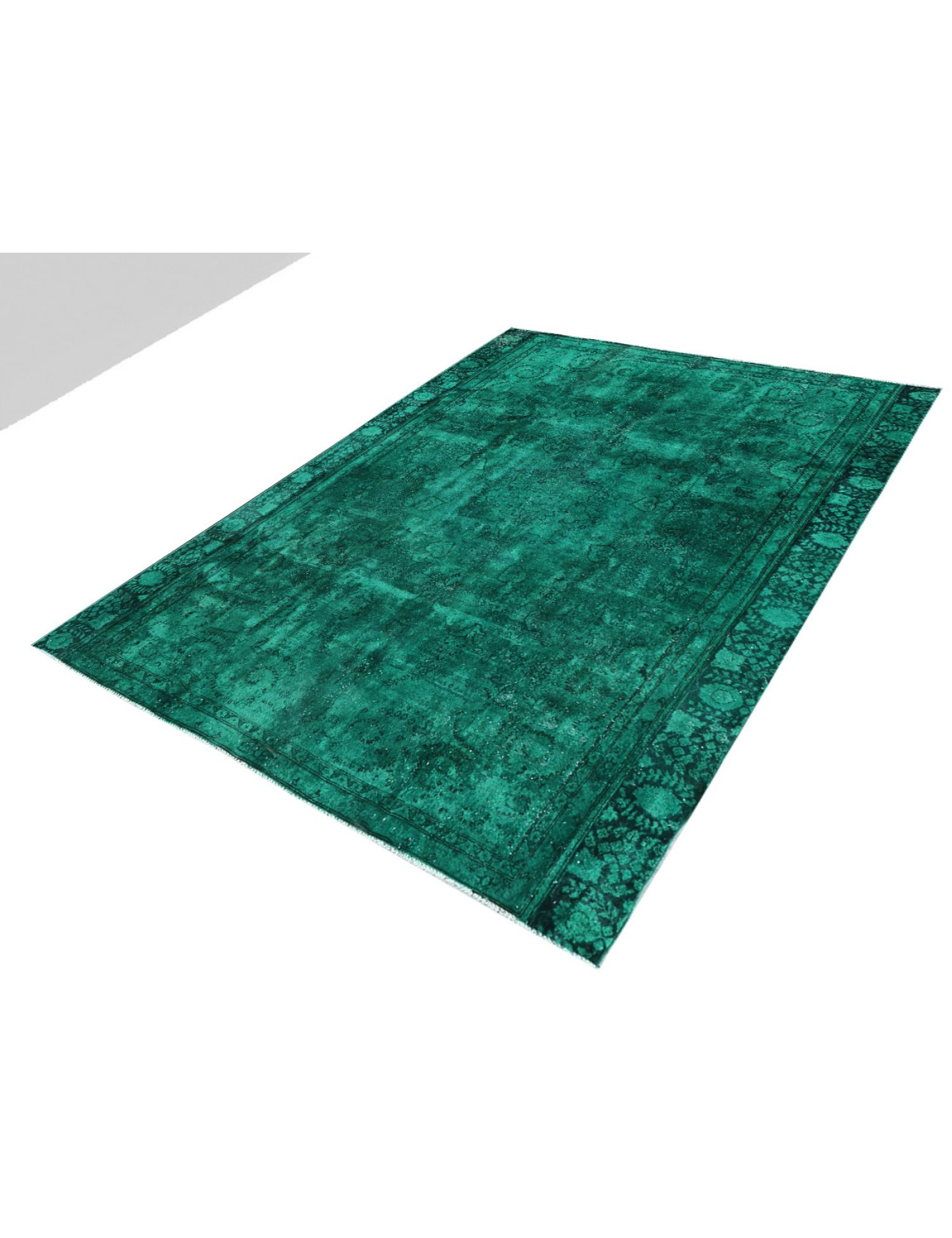 Vintage Carpet  green <br/>300 x 258 cm