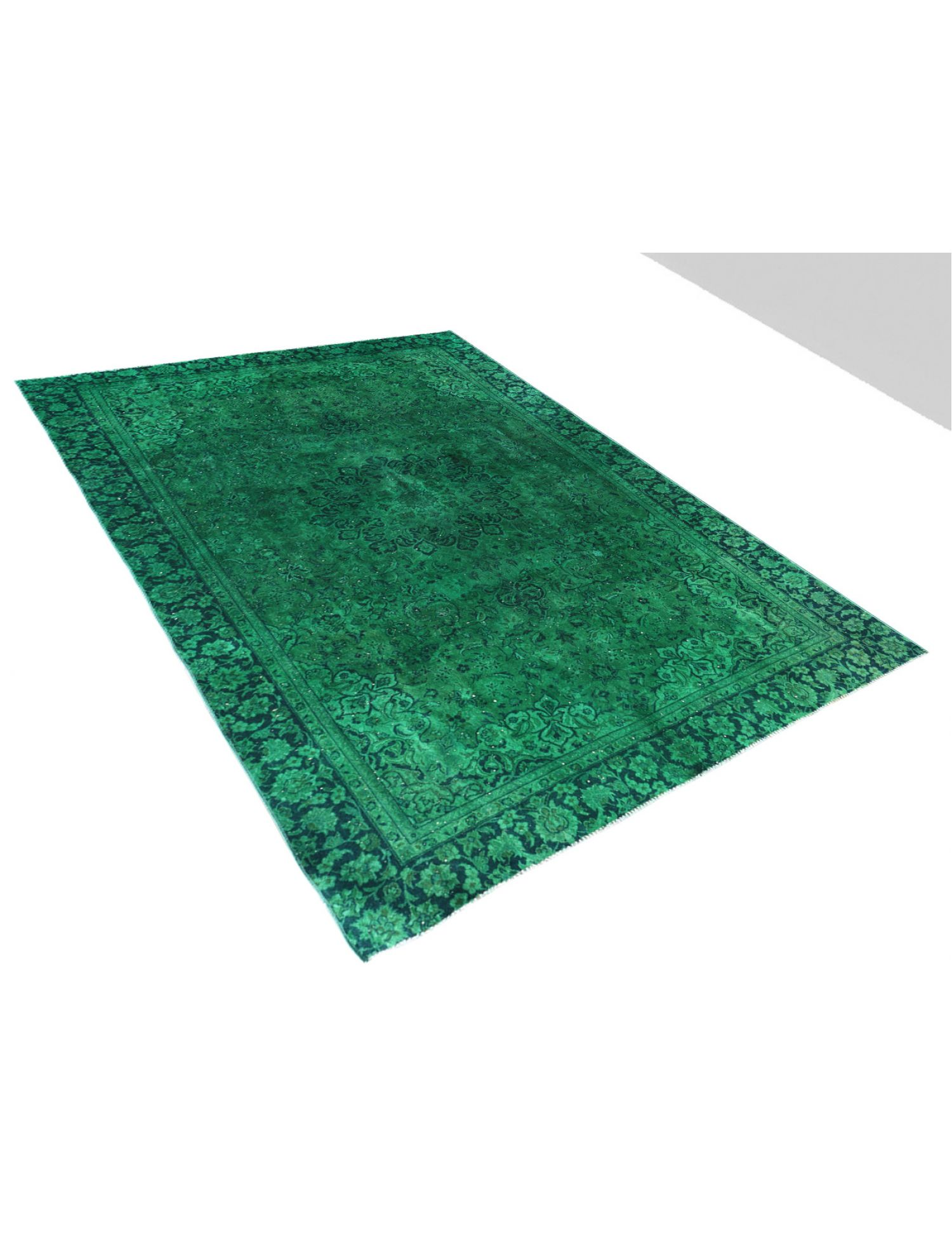 Vintage Carpet  green <br/>376 x 263 cm