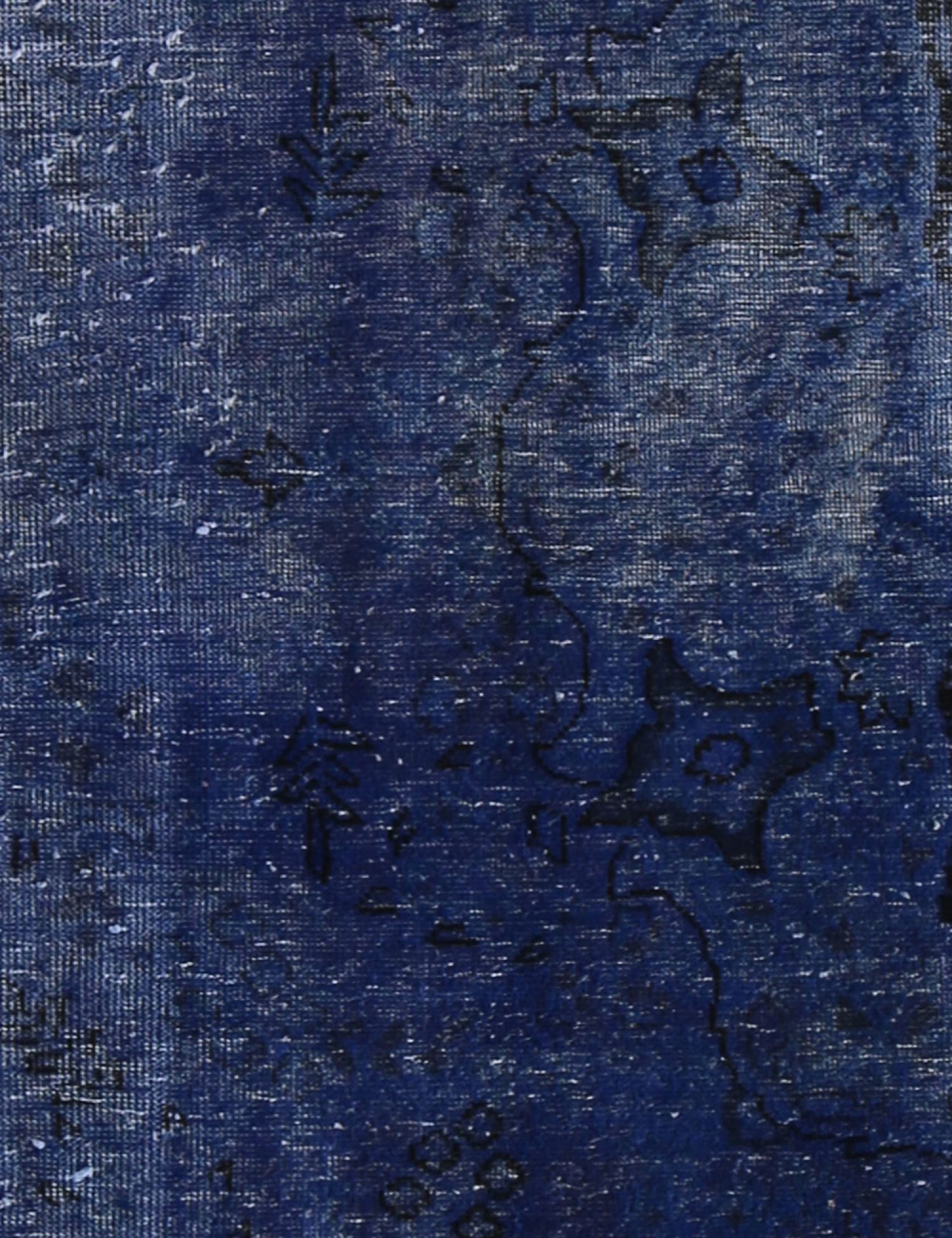 Vintage Carpet  blue <br/>279 x 83 cm