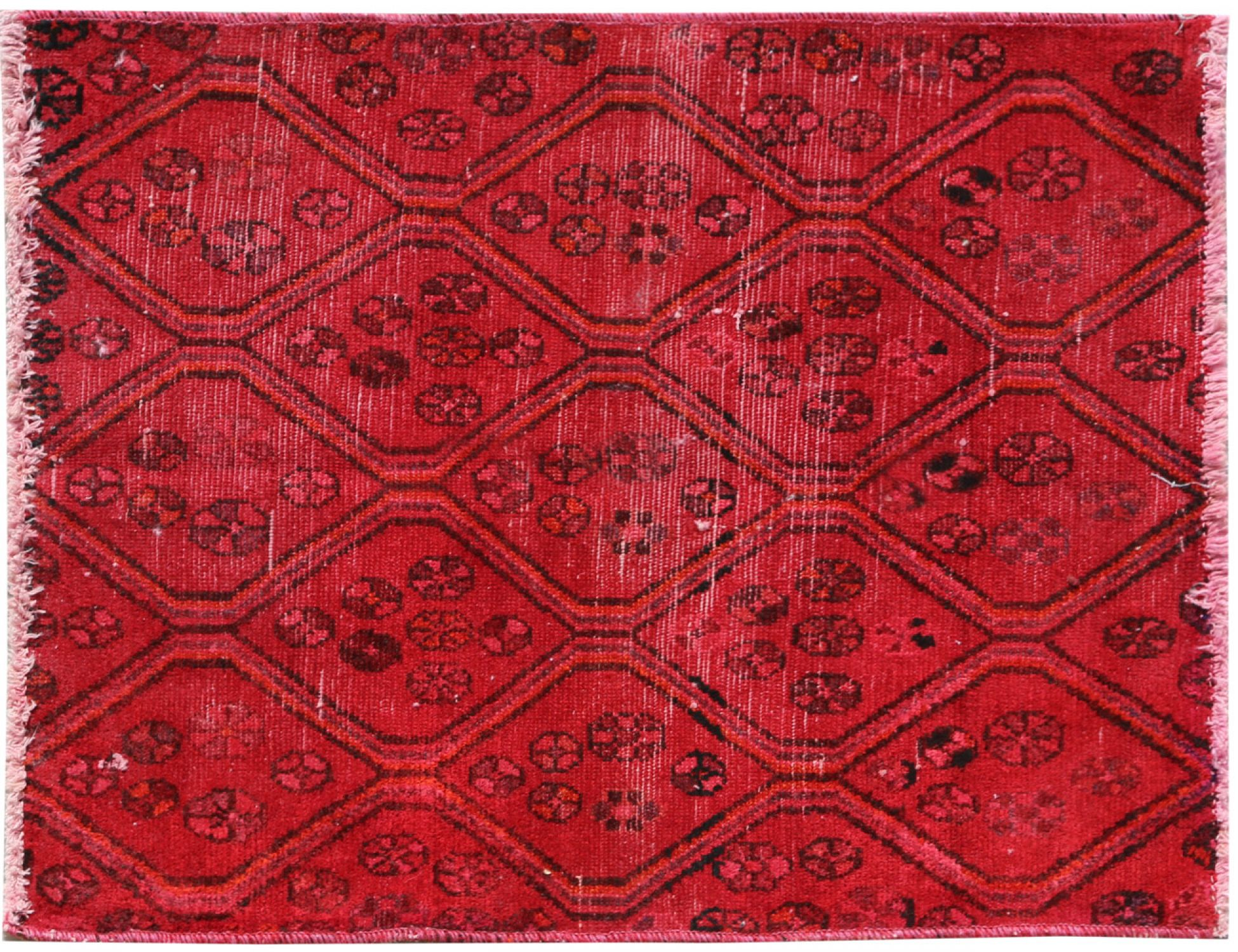Vintage Carpet  red <br/>90 x 77 cm