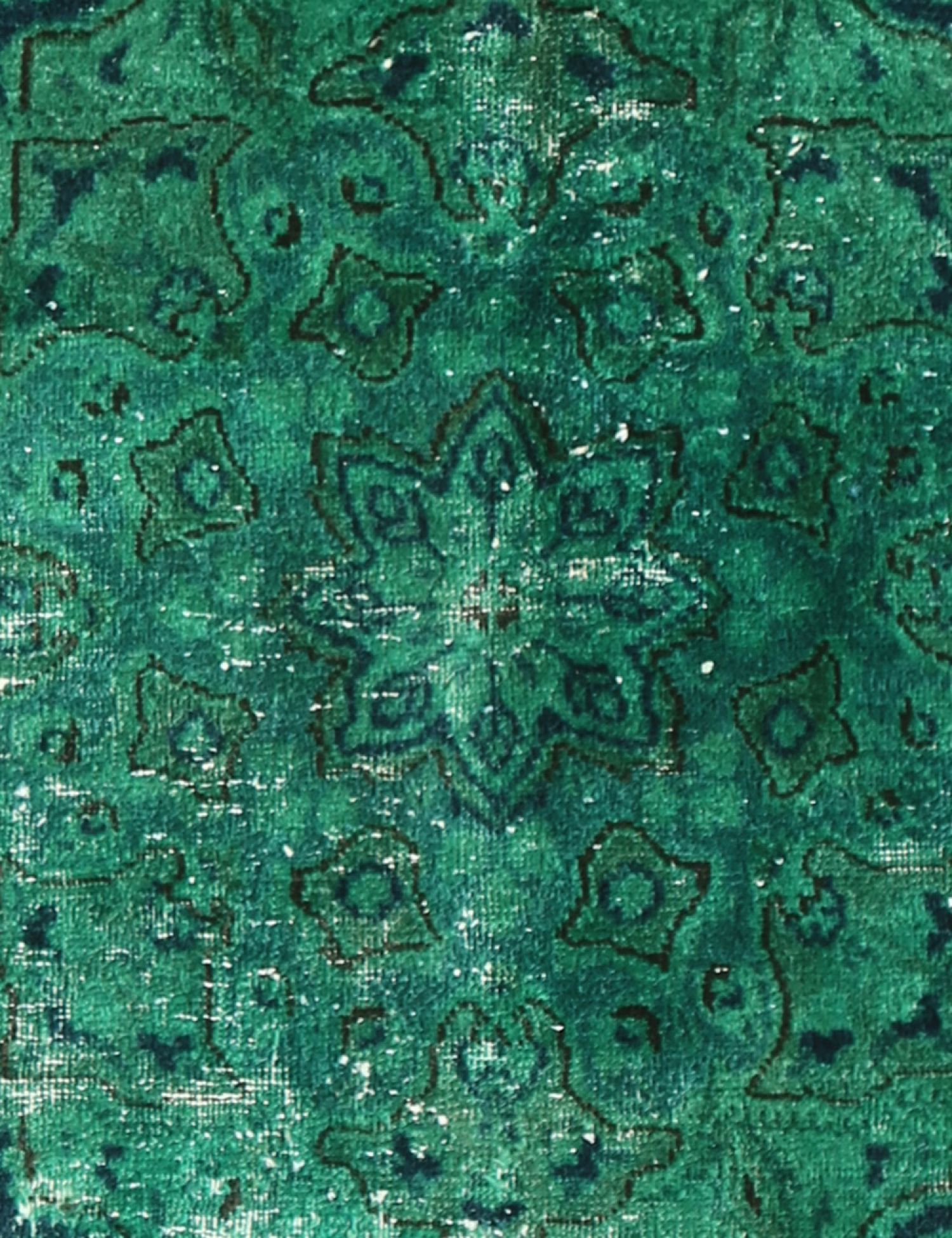 Vintage Carpet  green <br/>178 x 142 cm