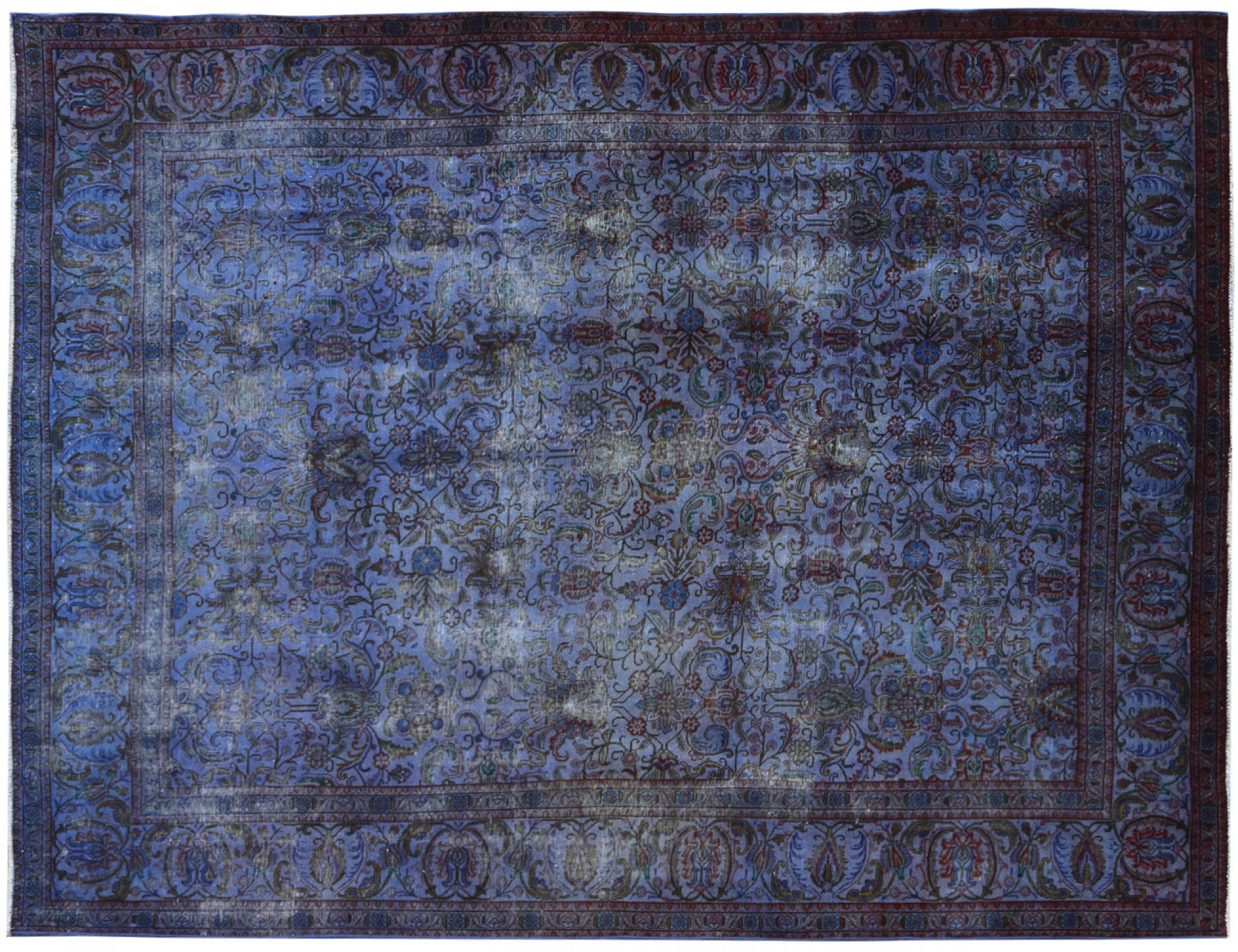 Vintage Carpet  blue <br/>374 x 291 cm