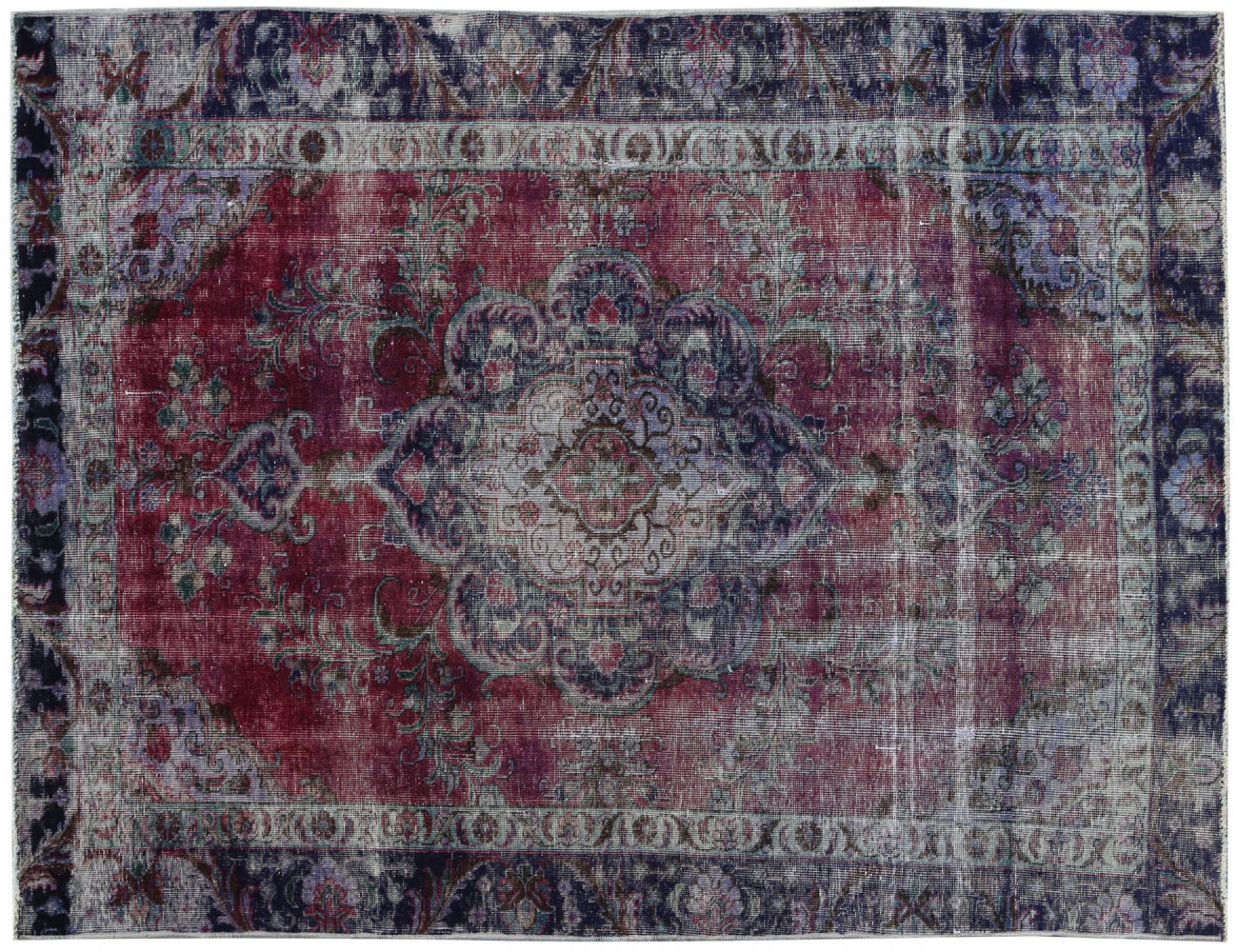 Vintage Carpet  blue <br/>270 x 174 cm