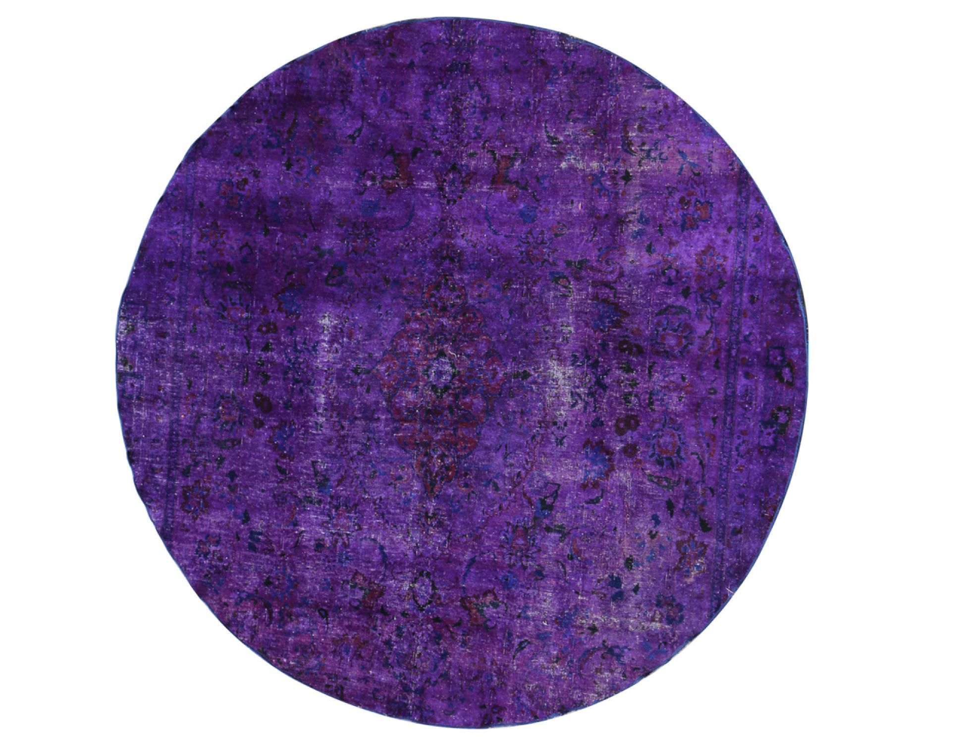 Vintage Carpet  purple <br/>260 x 260 cm