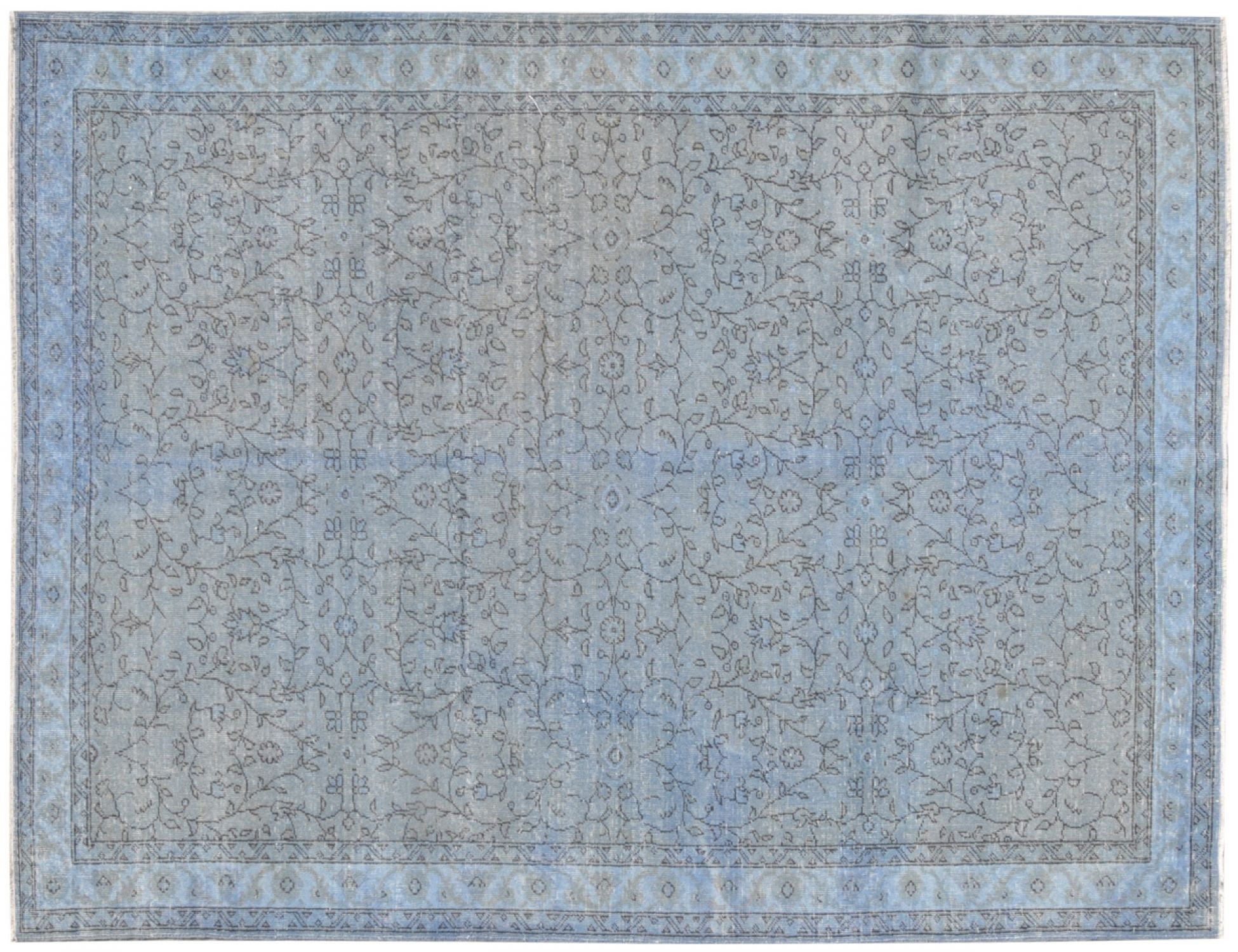 Vintage Carpet  blue <br/>296 x 196 cm