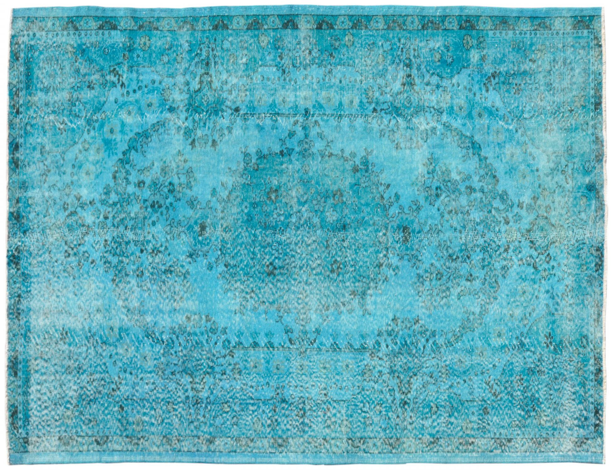 Vintage Carpet  blue <br/>297 x 180 cm