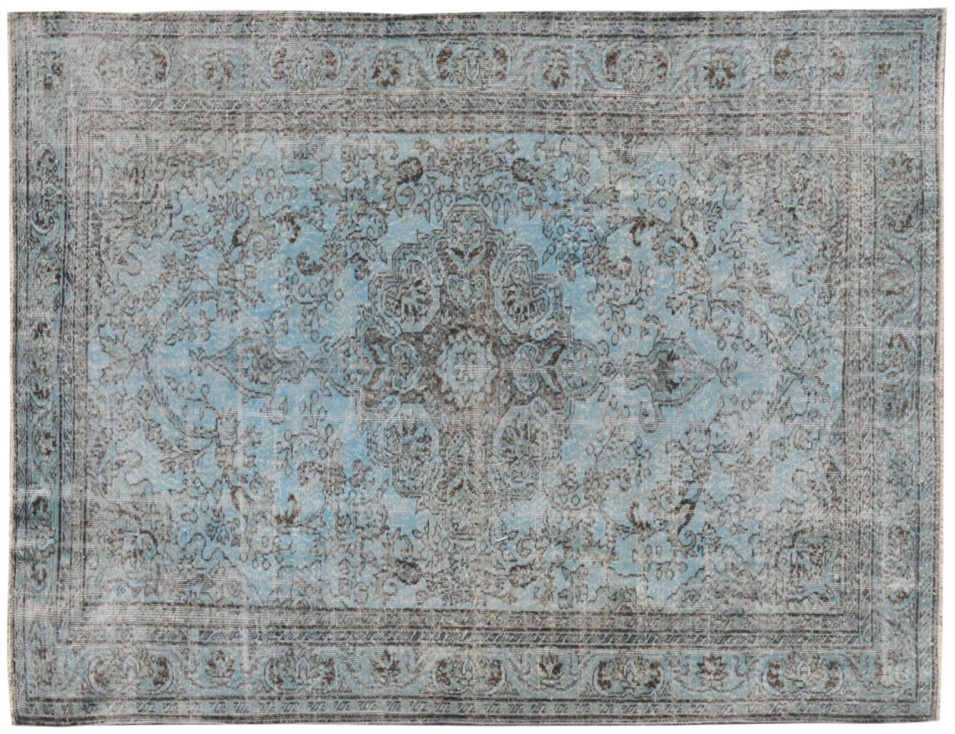 Vintage Carpet  blue <br/>289 x 172 cm