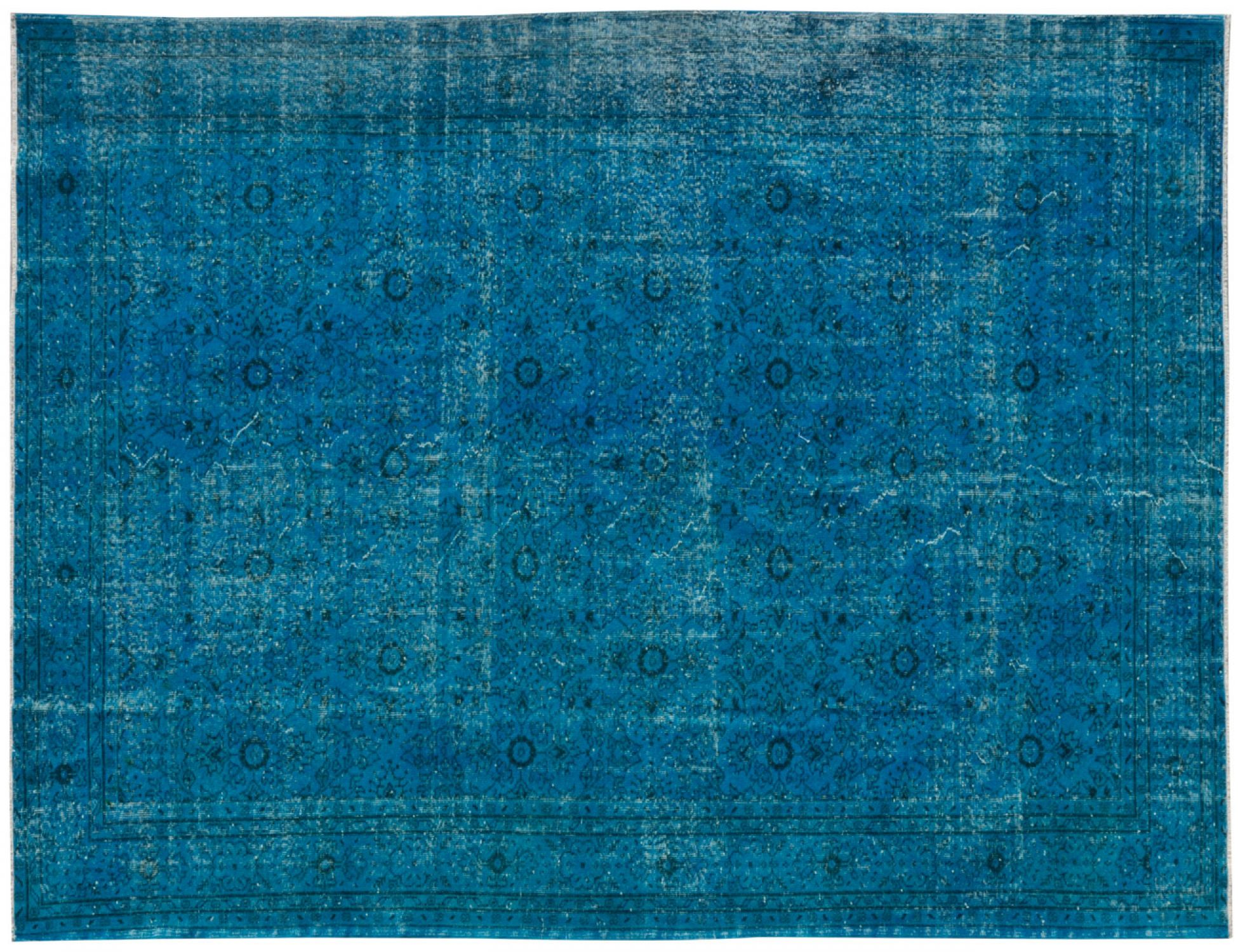 Vintage Carpet  blue <br/>324 x 226 cm