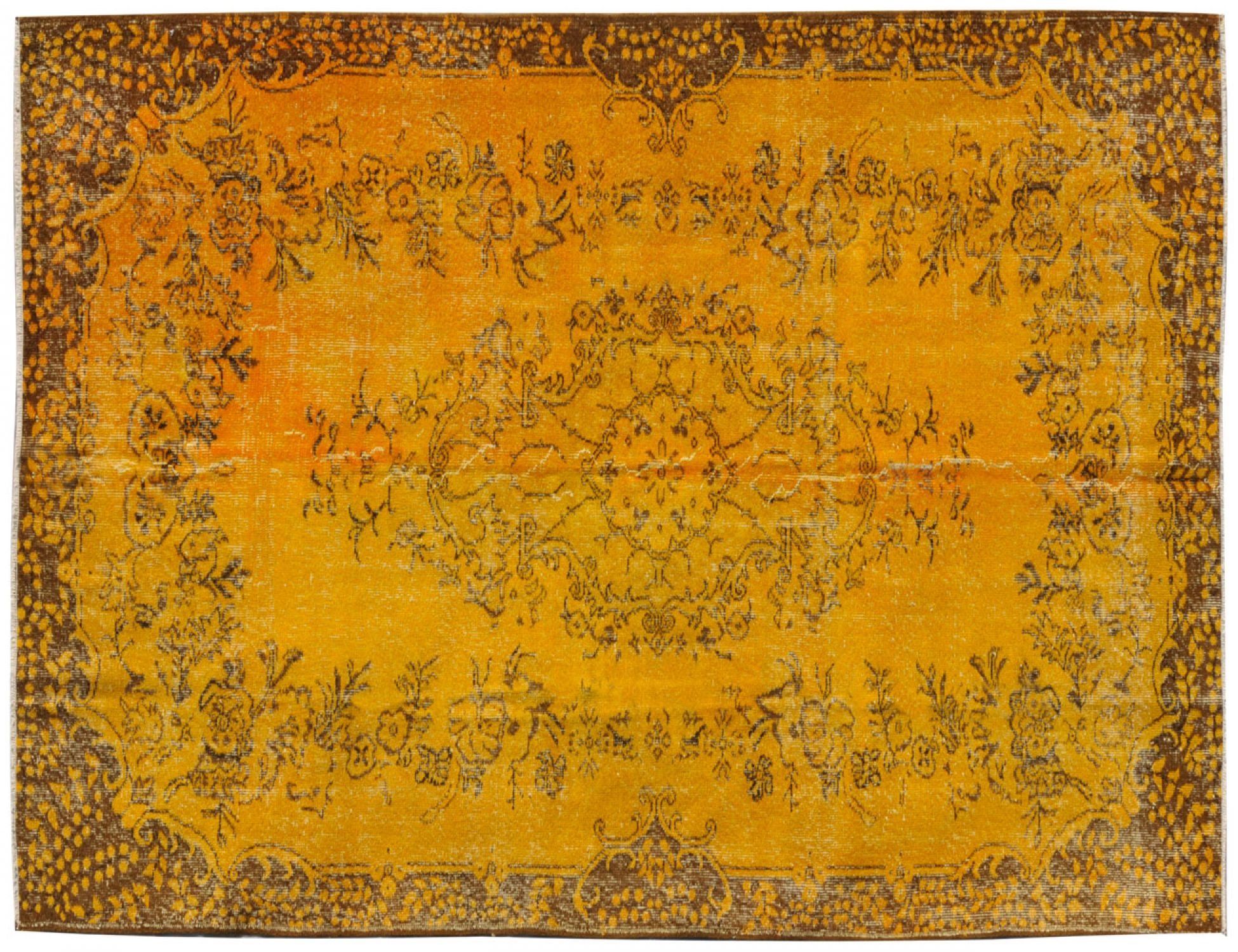 Vintage Carpet  yellow <br/>293 x 173 cm