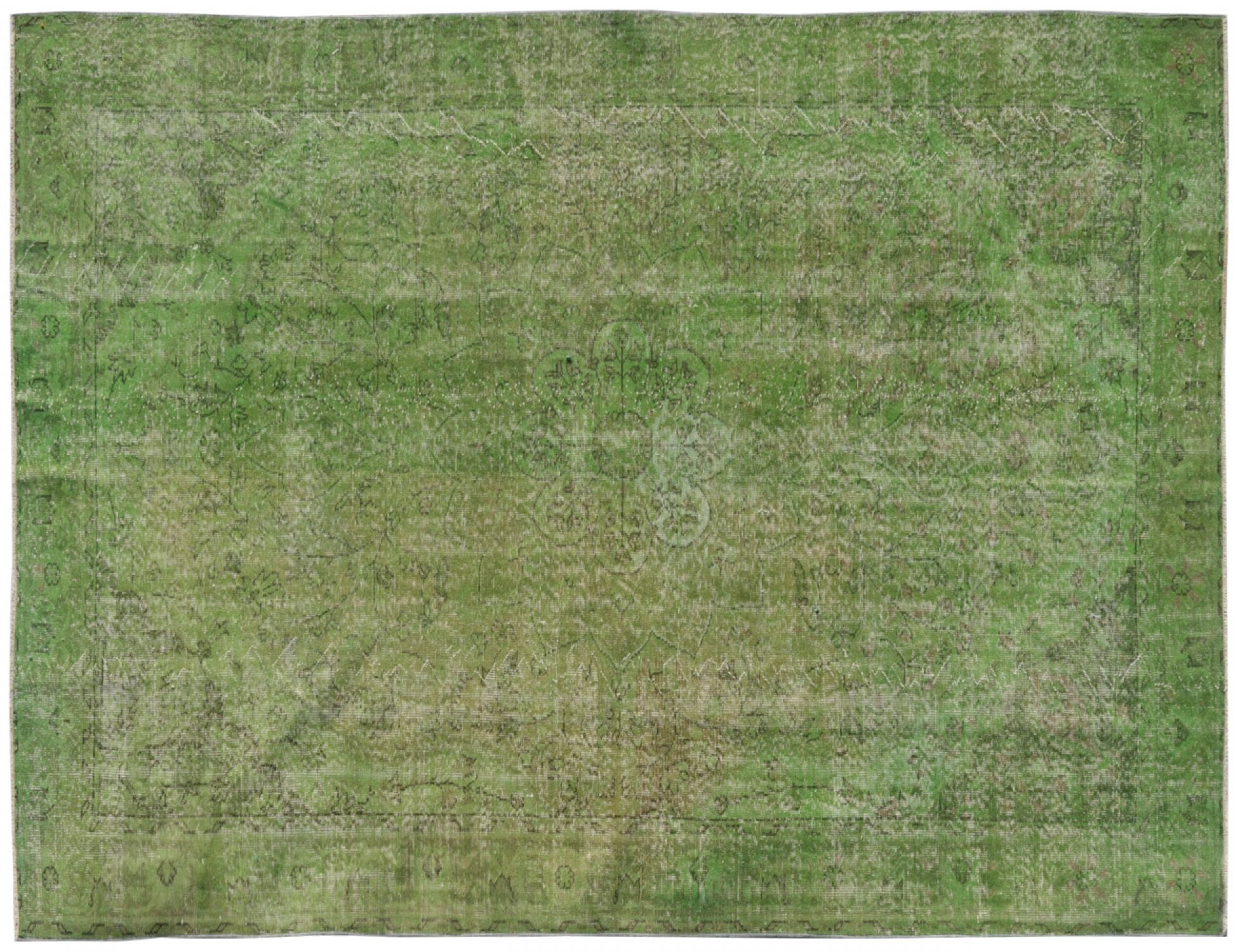Vintage Carpet  green <br/>320 x 205 cm