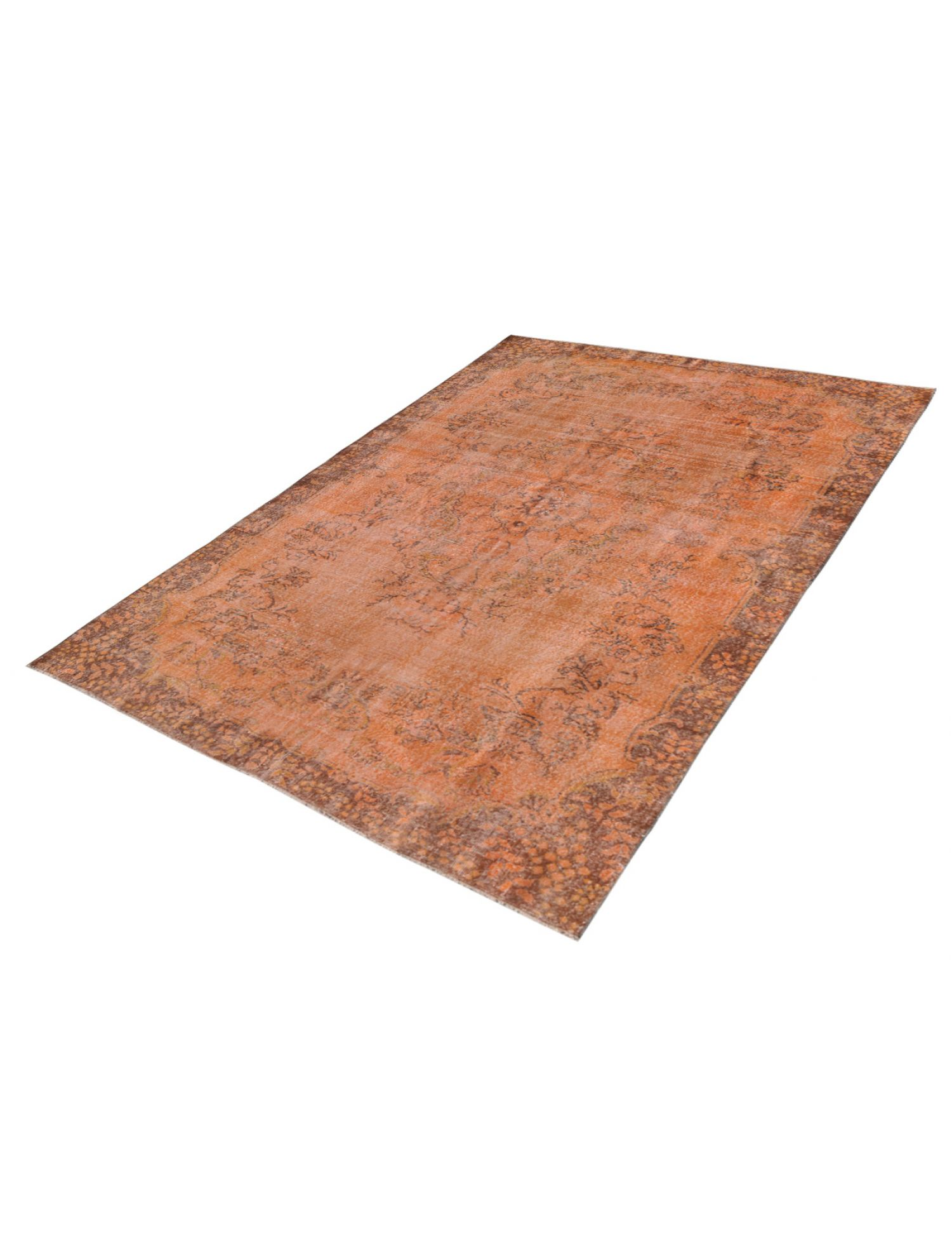 Teppich turkis vintage  orange <br/>315 x 200 cm