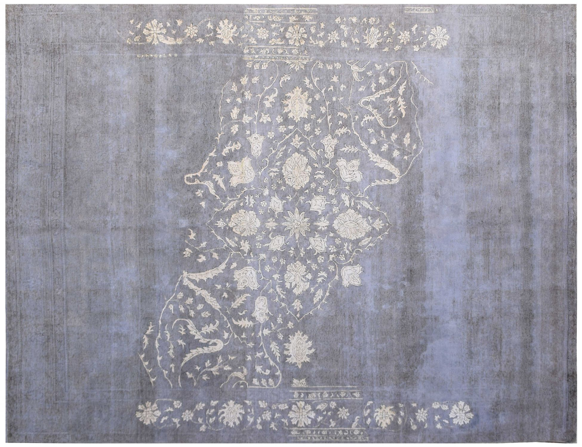 Vintage Carpet  blue <br/>381 x 288 cm