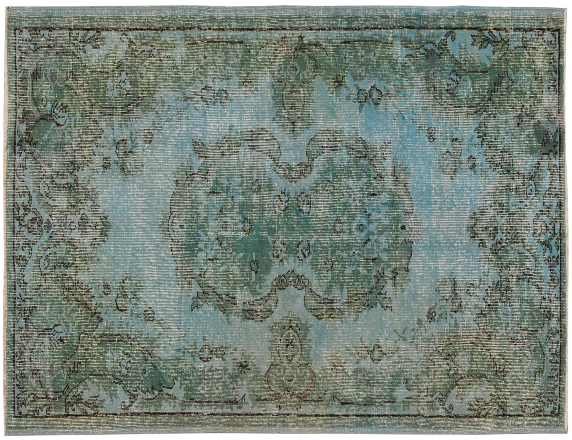 Vintage Carpet  blue <br/>182 x 115 cm