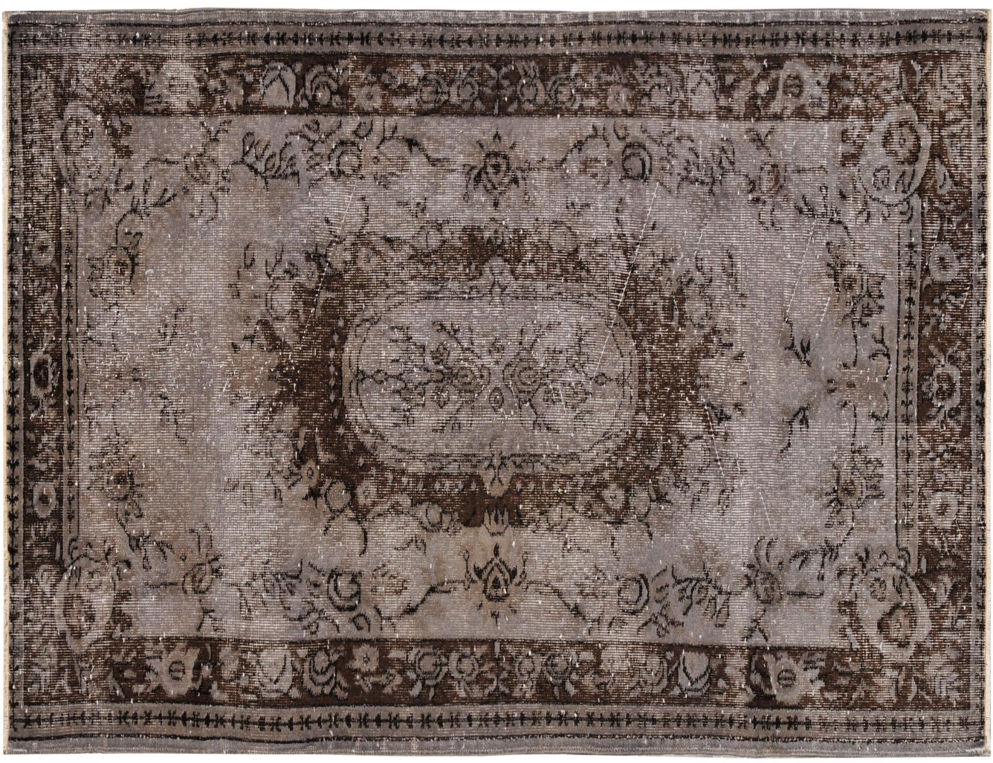 Vintage Carpet  grey <br/>214 x 120 cm