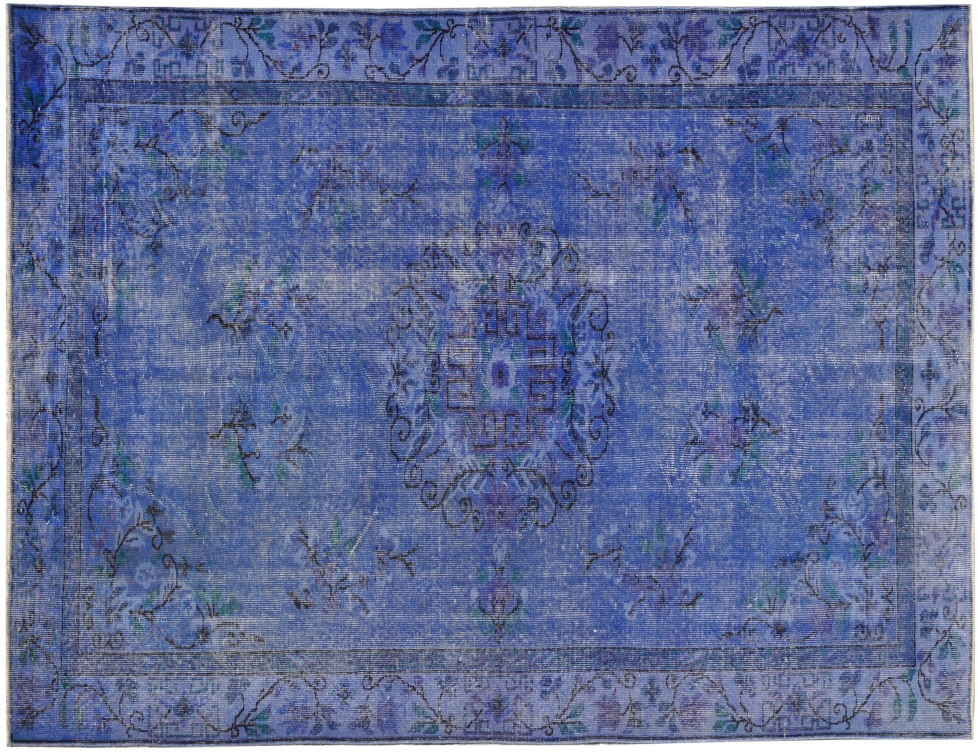 Vintage Carpet  blue <br/>285 x 171 cm