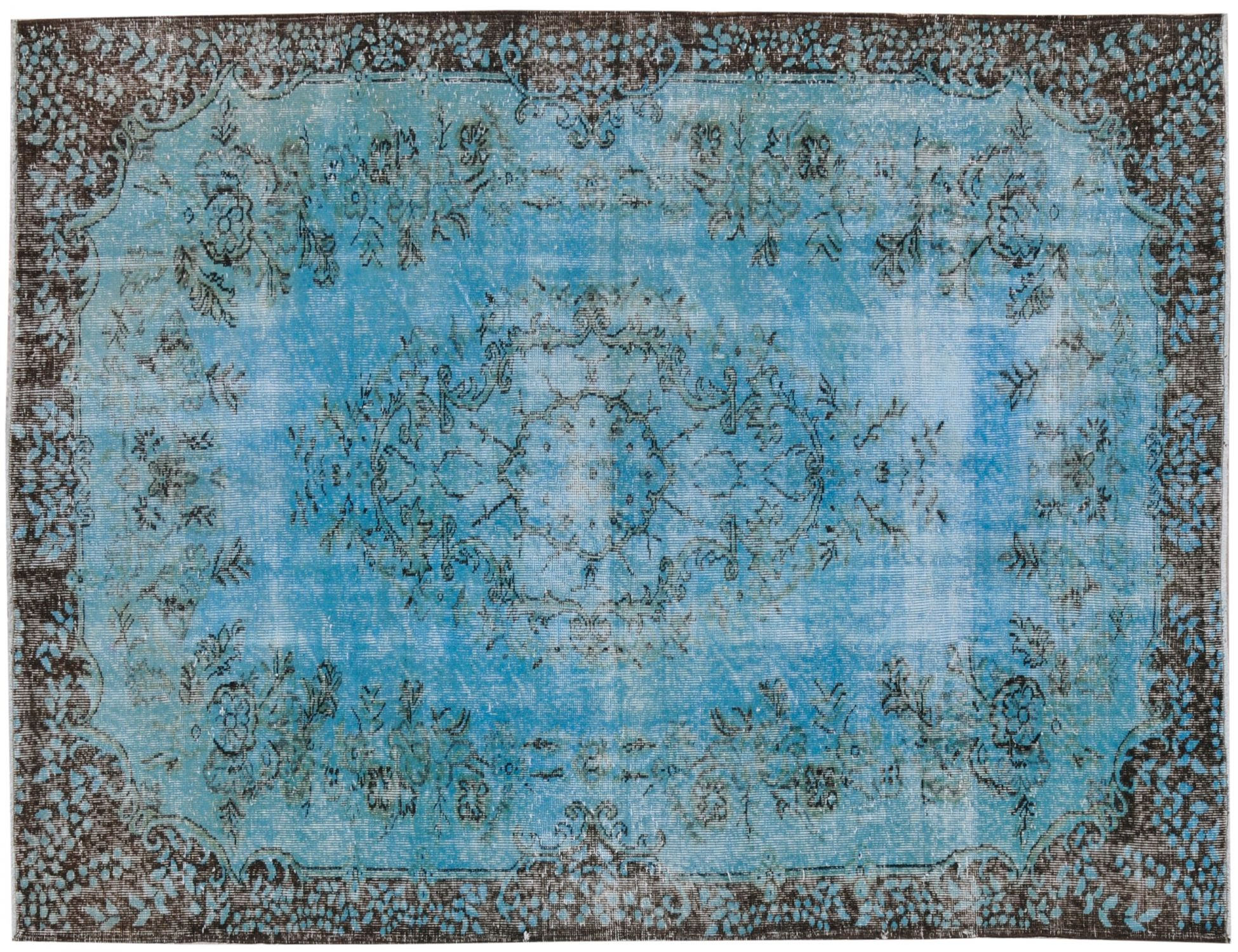 Vintage Carpet  blue <br/>268 x 187 cm