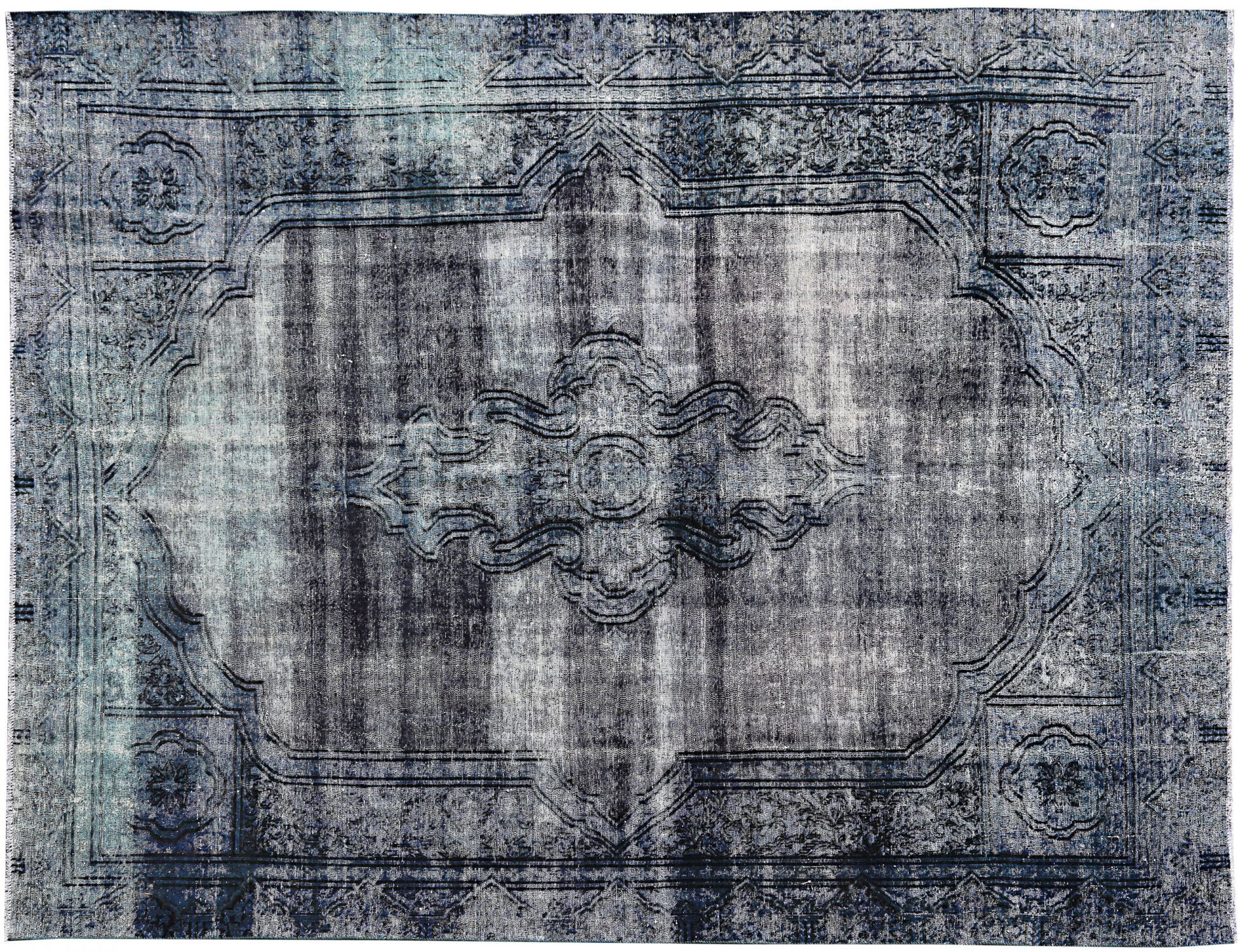 Vintage Carpet  blue <br/>367 x 270 cm