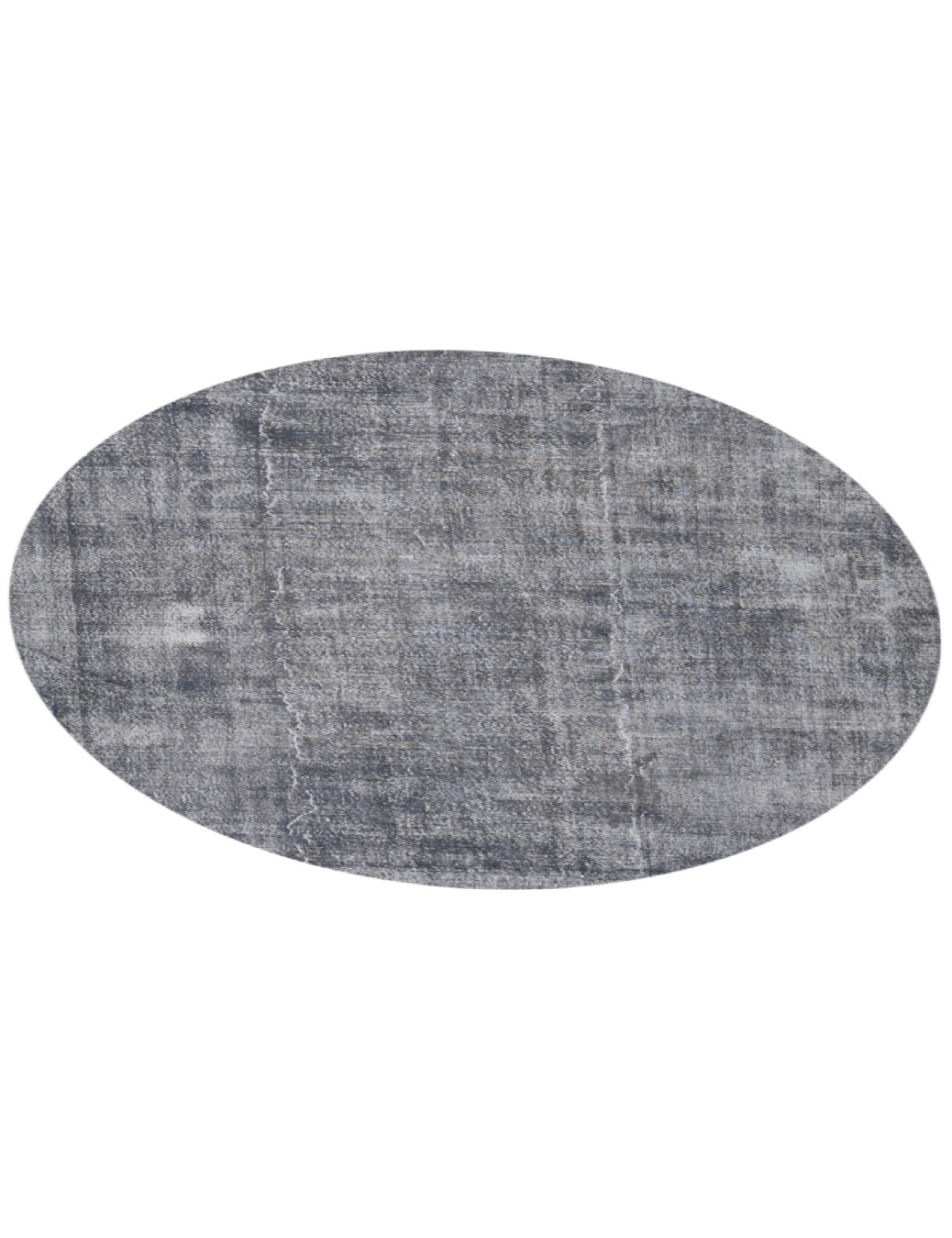 Vintage Teppich rund  grau <br/>256 x 256 cm