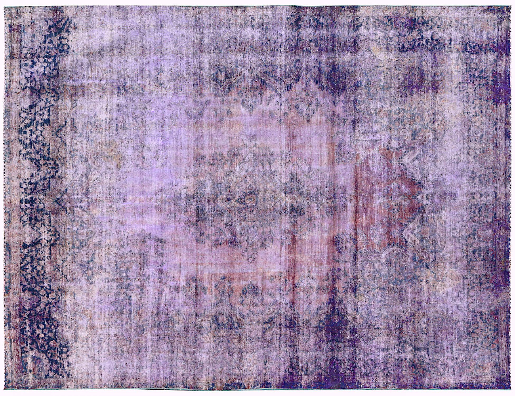 Vintage Carpet  purple <br/>360 x 281 cm