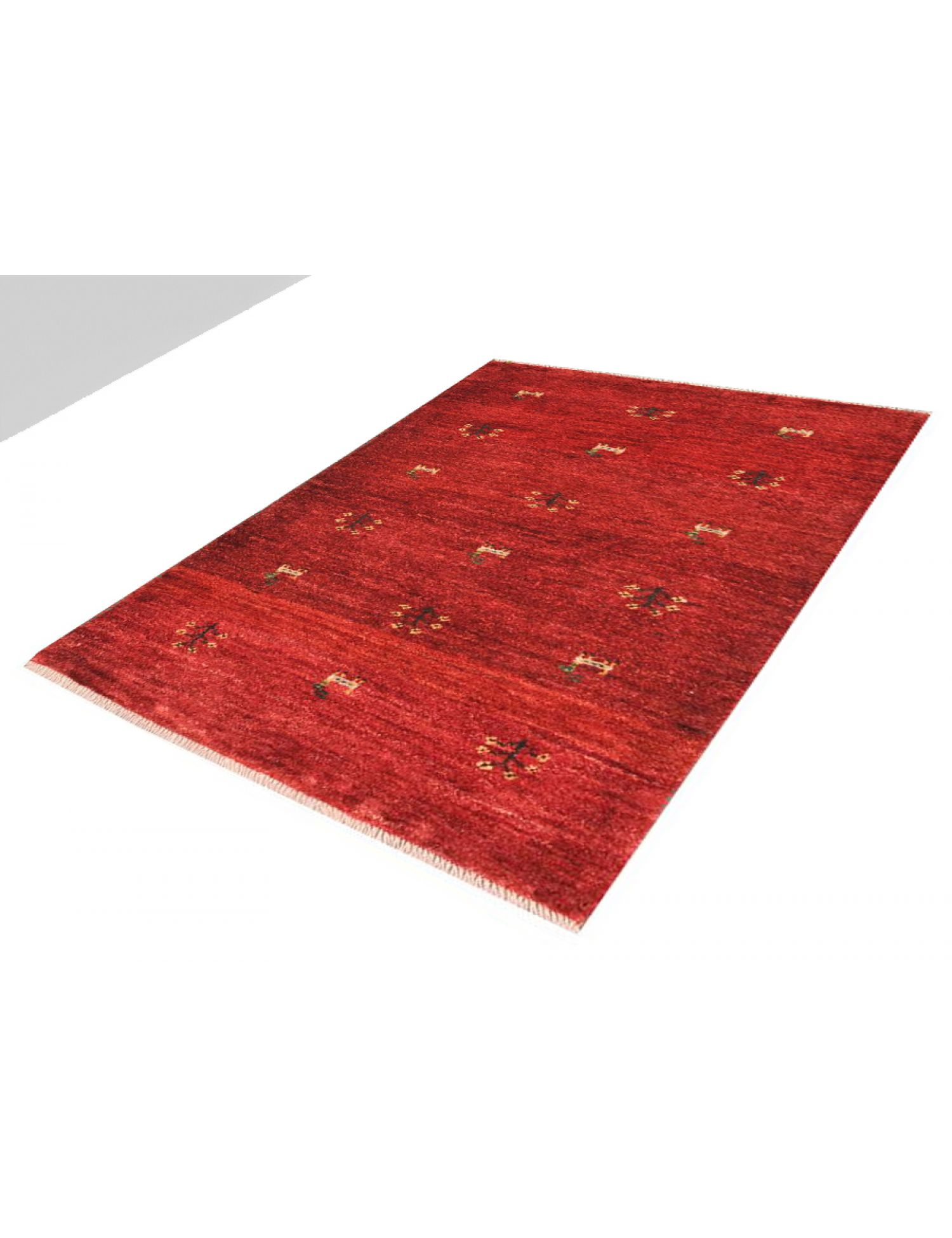 Modern carpets  red <br/>120 x 77 cm