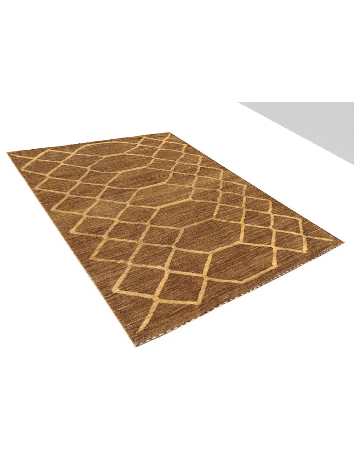 Modern carpets  brown <br/>212 x 168 cm