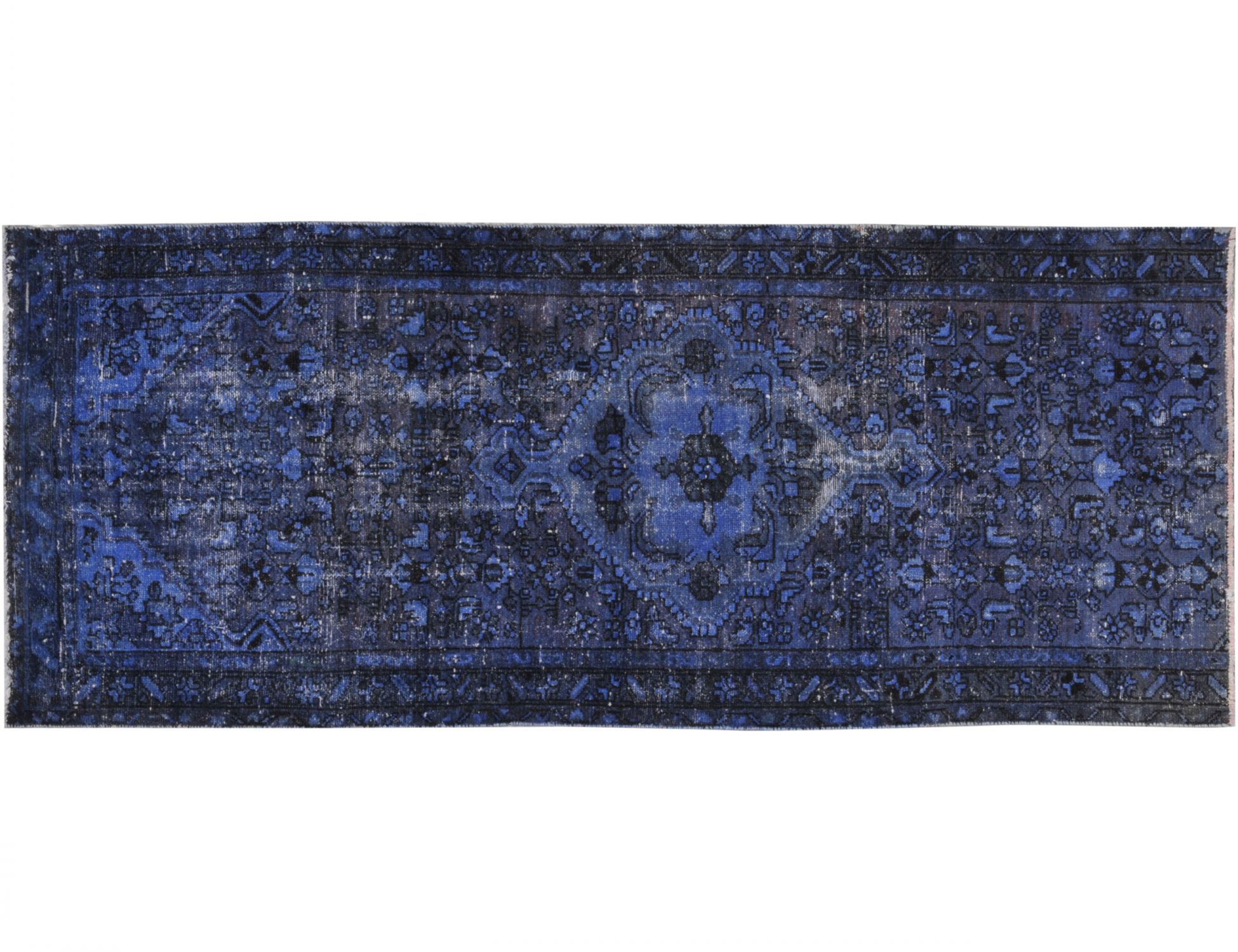 Vintage Carpet  blue <br/>237 x 86 cm