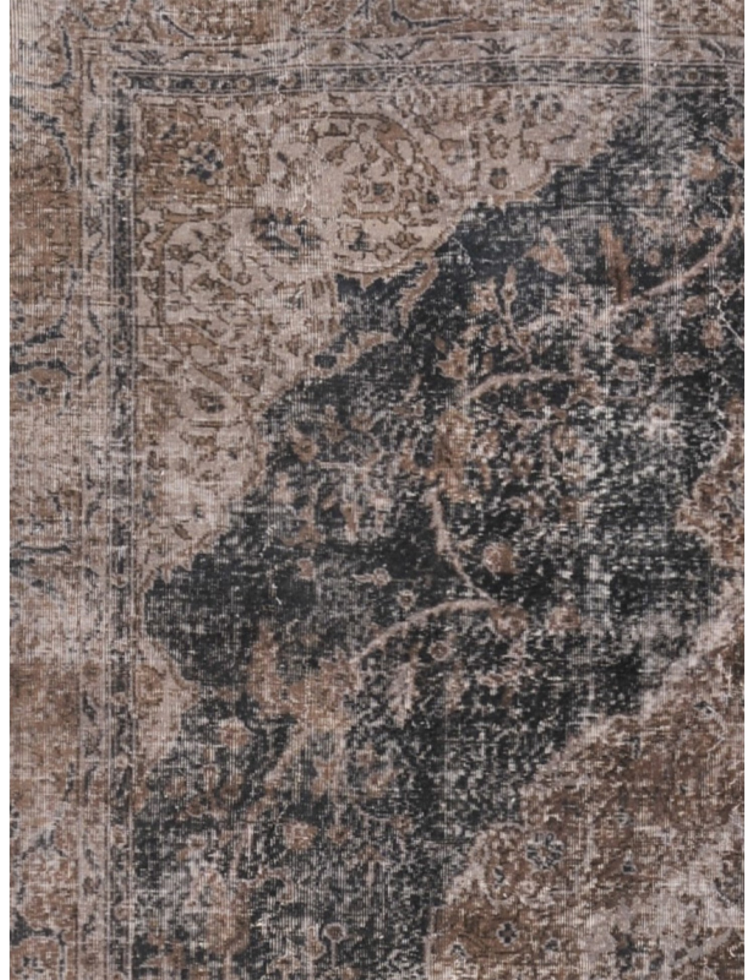 Vintage Carpet  black <br/>343 x 241 cm