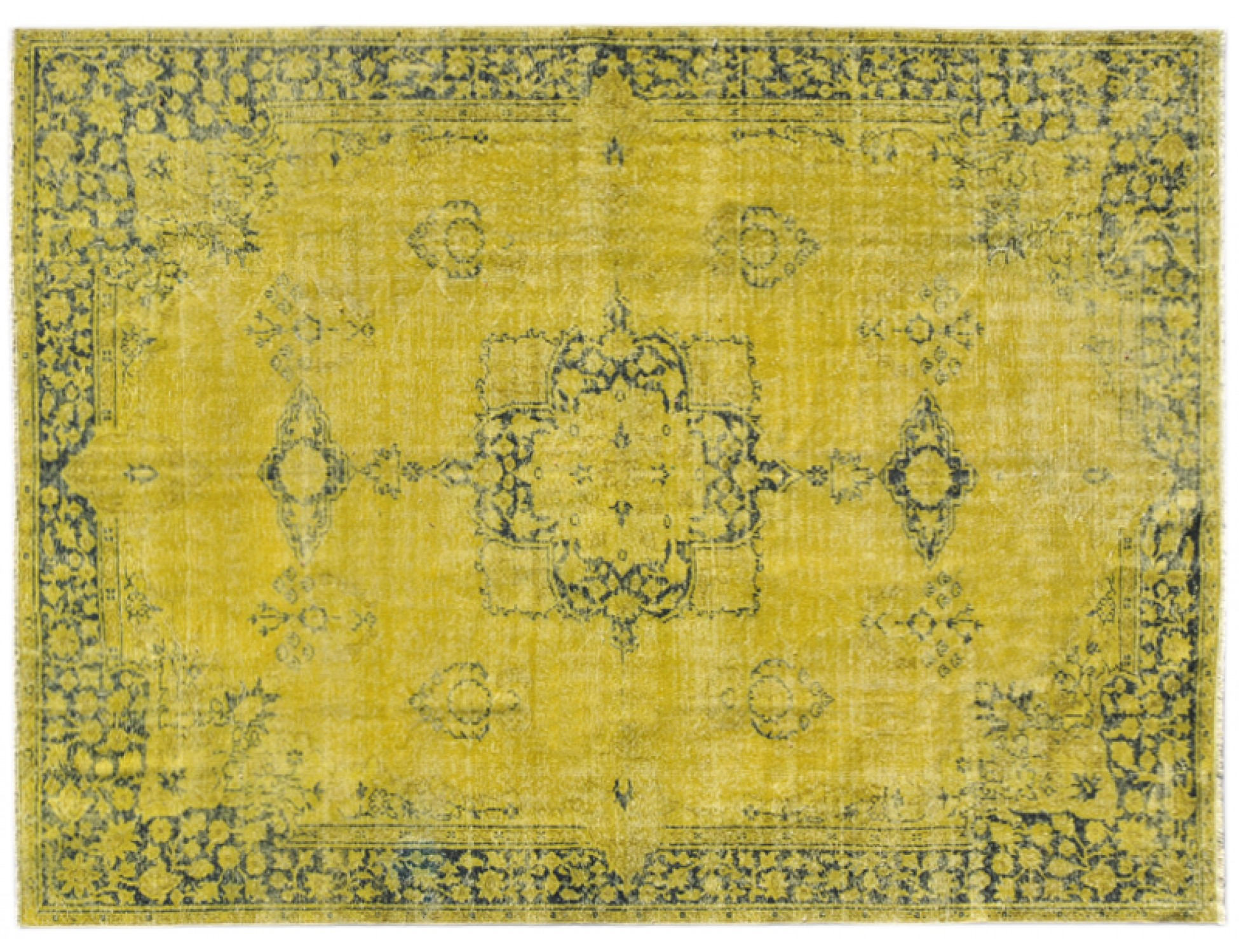 Vintage Carpet  yellow <br/>302 x 225 cm