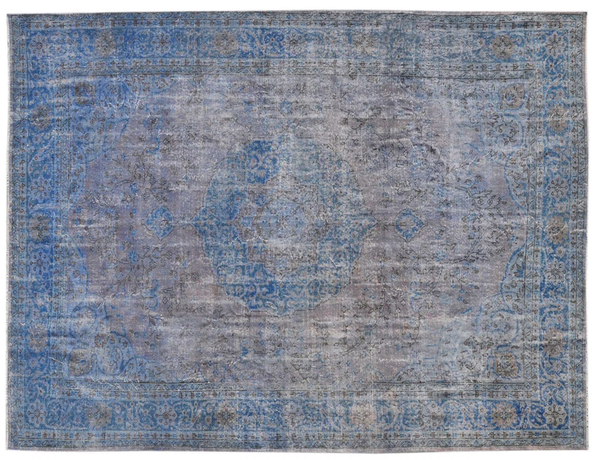 Vintage Carpet  blue <br/>356 x 268 cm