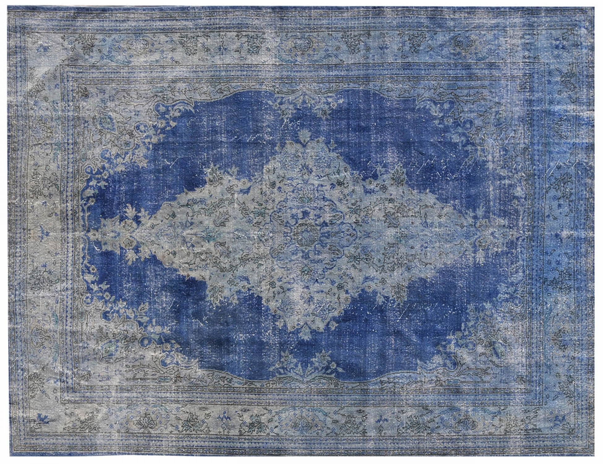 Vintage Carpet  blue <br/>350 x 270 cm