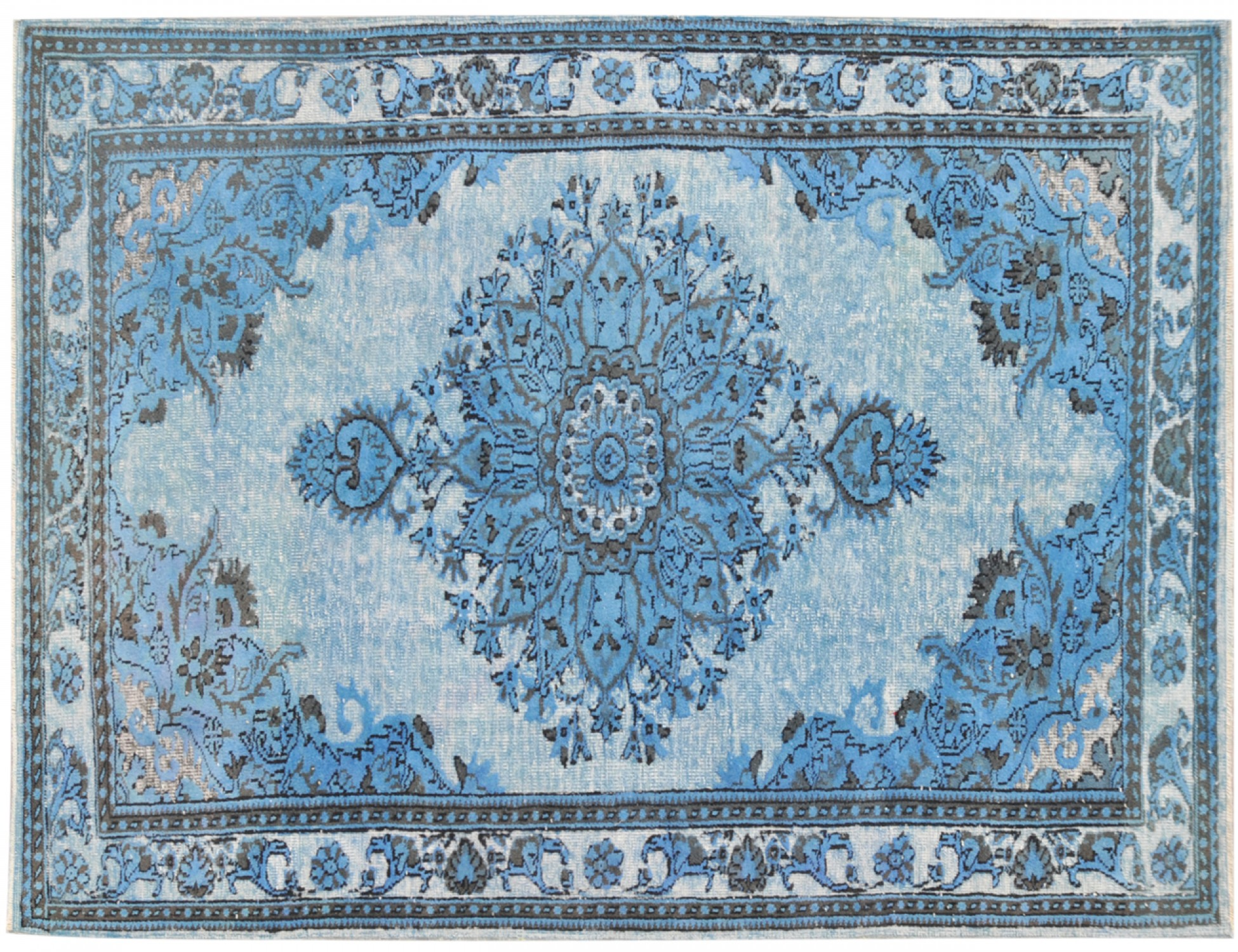 Vintage Carpet  blue <br/>300 x 190 cm