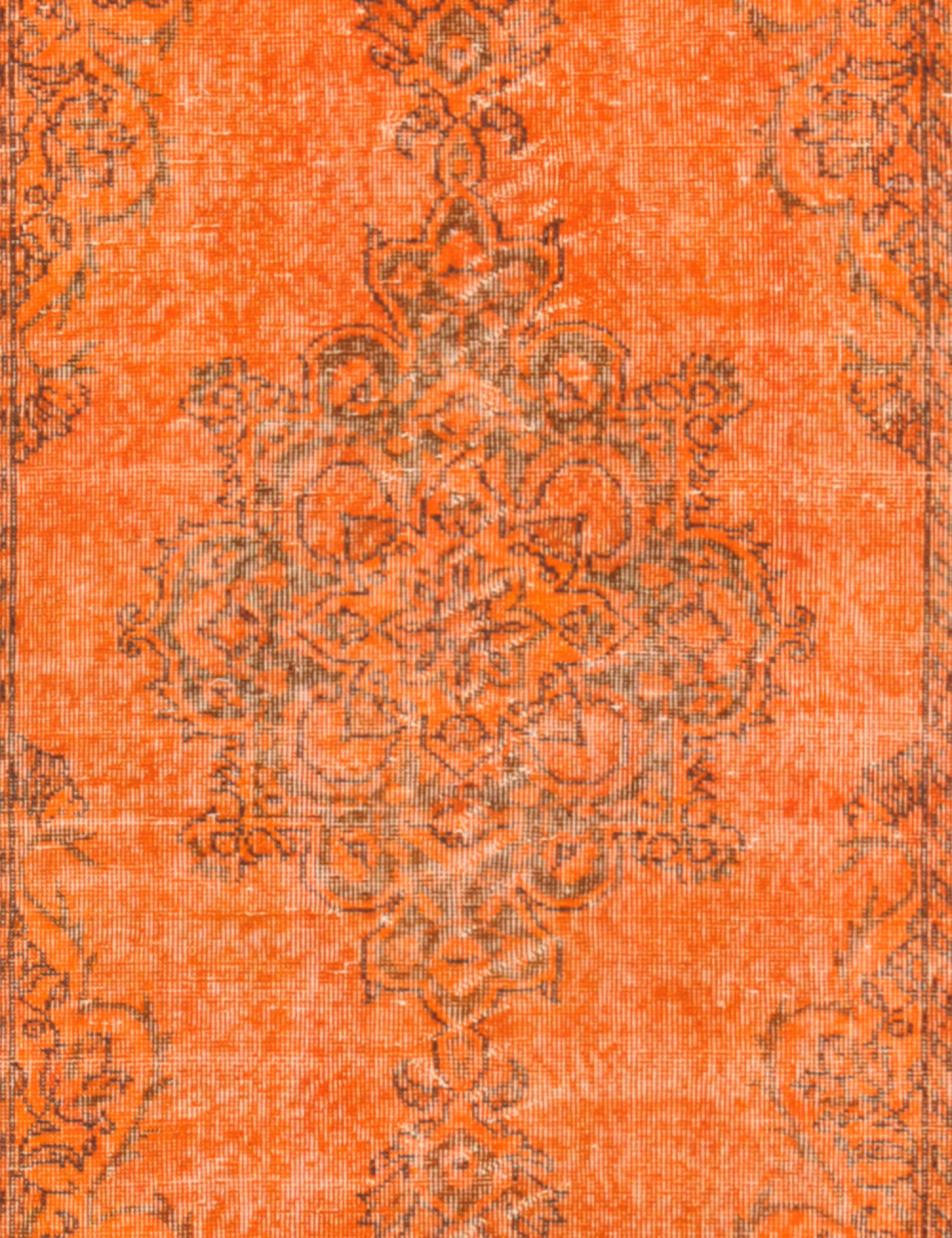 Vintage Teppich  orange <br/>201 x 114 cm