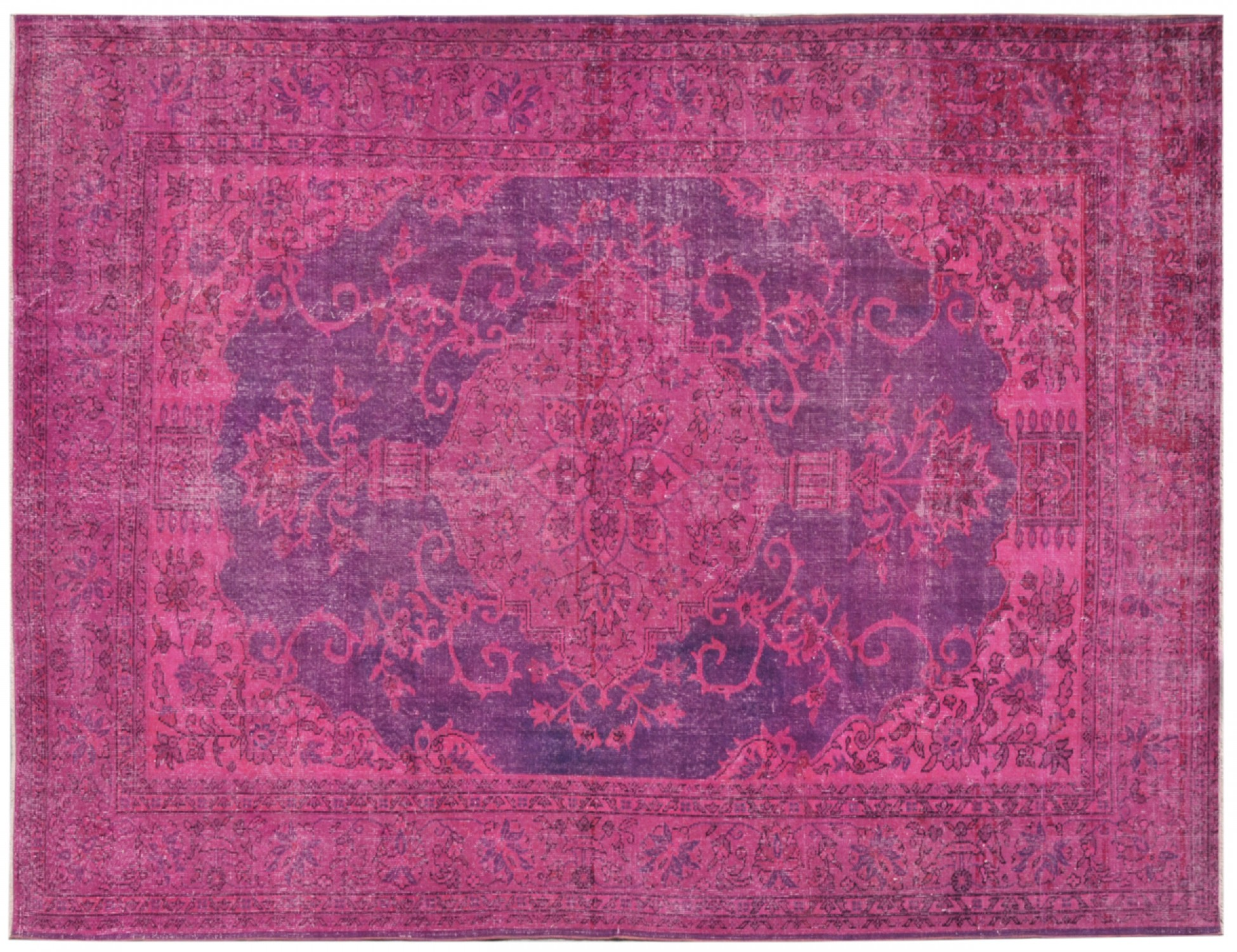 Vintage Carpet  purple <br/>292 x 201 cm