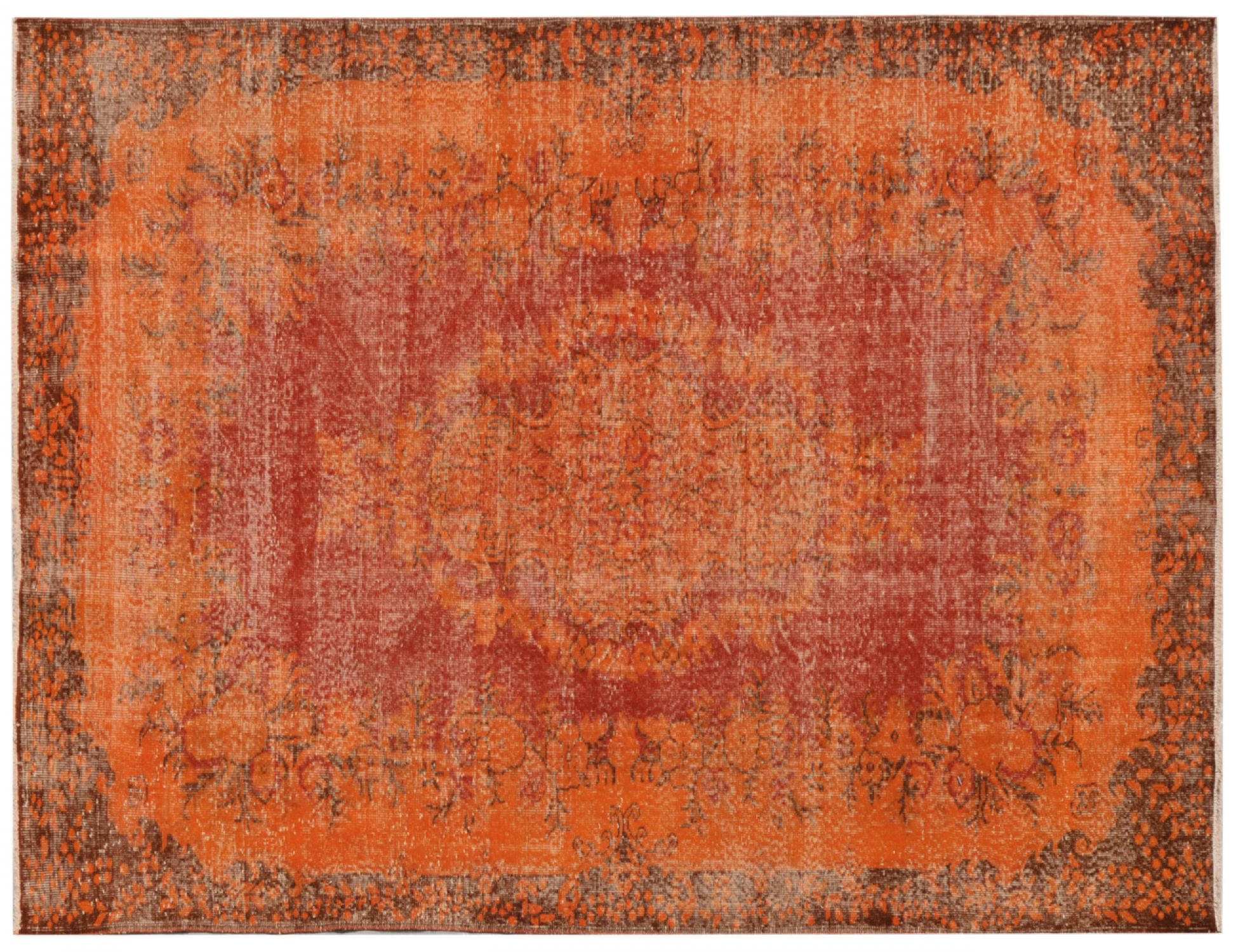 Vintage Teppich  orange <br/>296 x 180 cm
